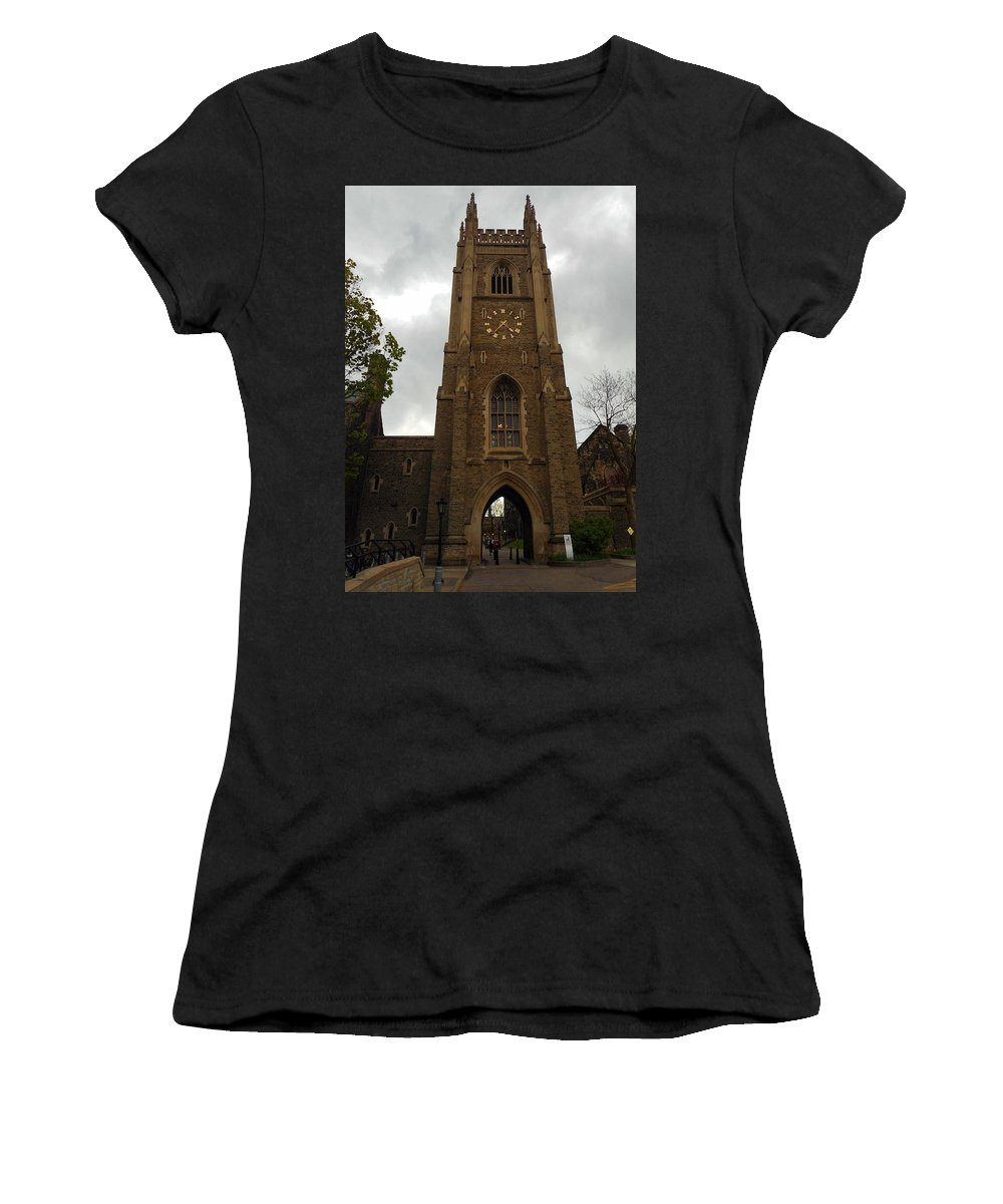 Toronto Women's T-Shirt (Athletic Fit) featuring the photograph Toronto 24 by Ron Kandt