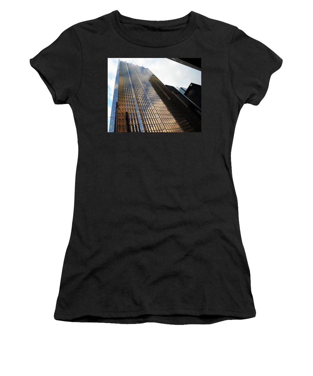 Toronto Women's T-Shirt (Athletic Fit) featuring the photograph Toronto 9 by Ron Kandt