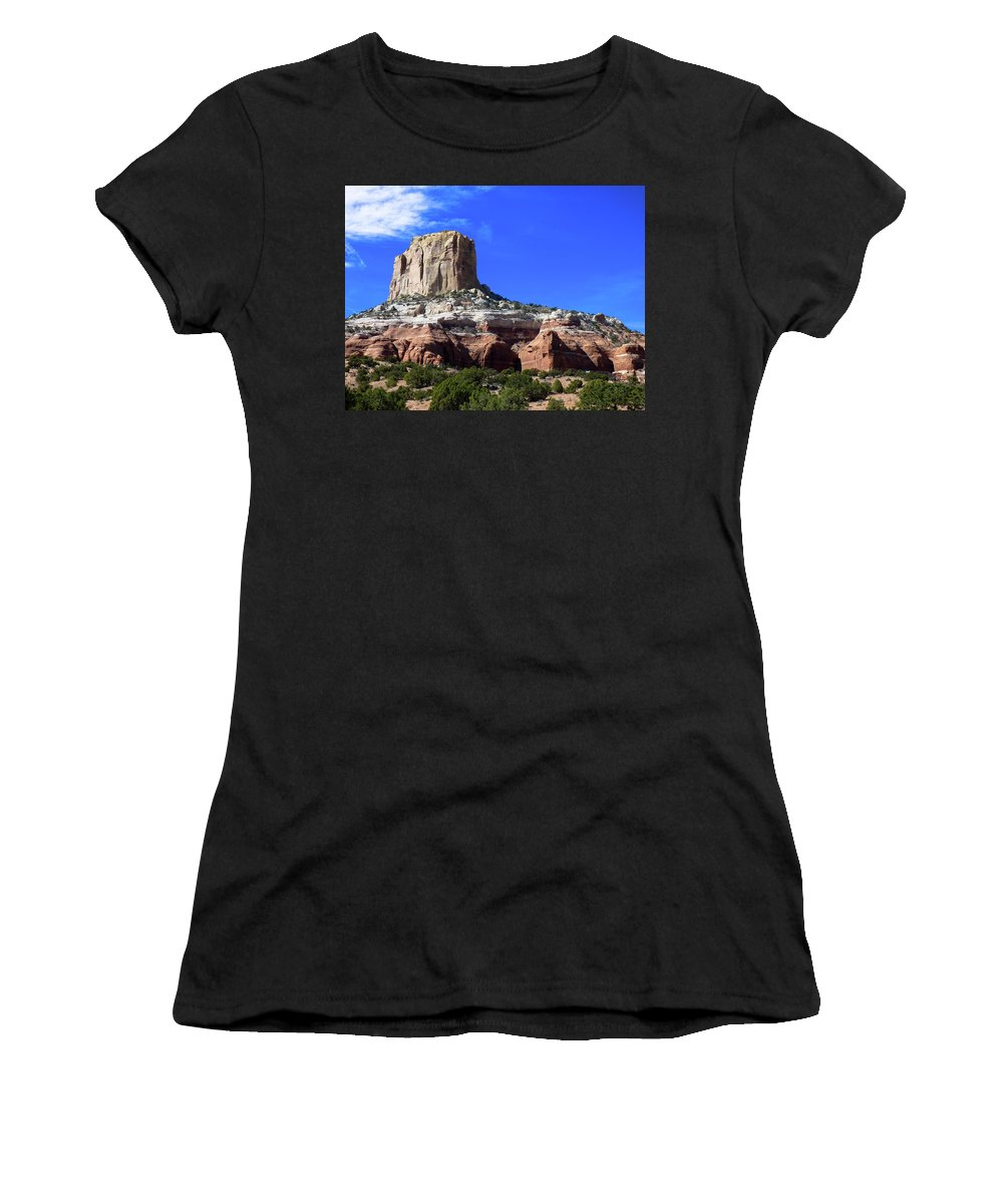 Colorado Women's T-Shirt (Athletic Fit) featuring the photograph Towering by Jeanette Wygant