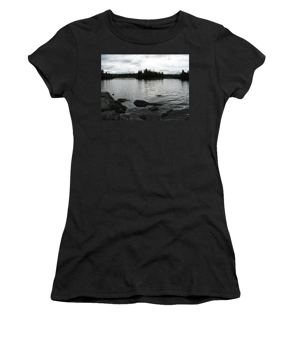 Water Women's T-Shirt (Athletic Fit) featuring the photograph Tranquility by Kelly Mezzapelle