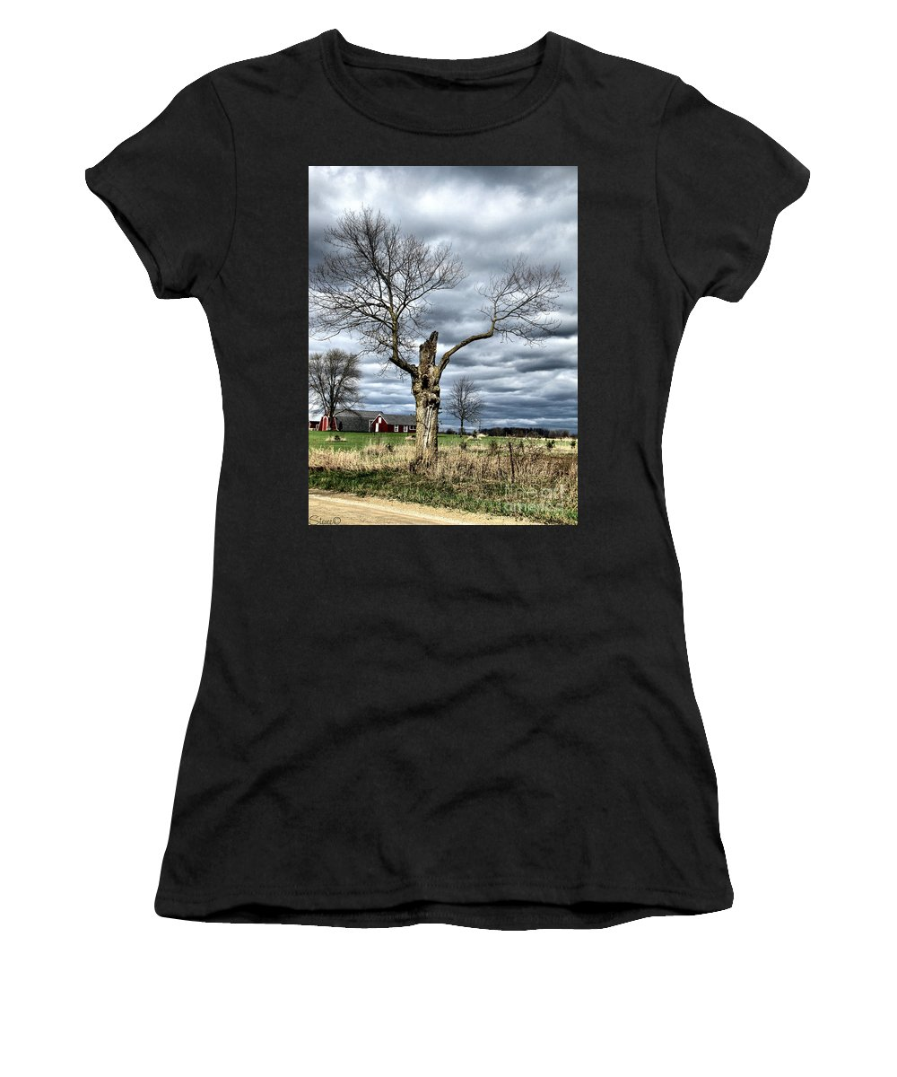 Tree Women's T-Shirt (Athletic Fit) featuring the photograph Tree Man by September Stone