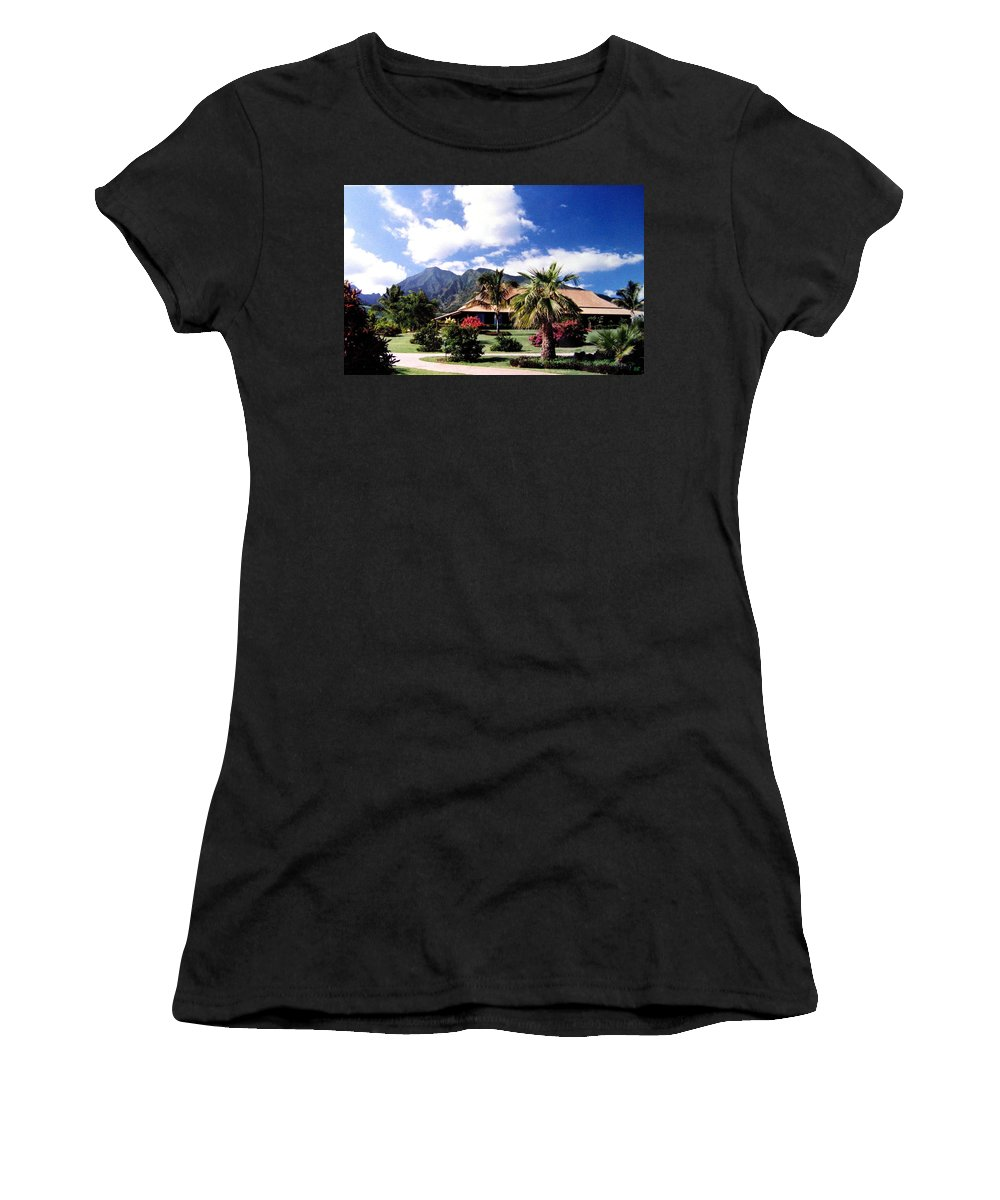 1986 Women's T-Shirt (Athletic Fit) featuring the photograph Tropical Plantation by Will Borden