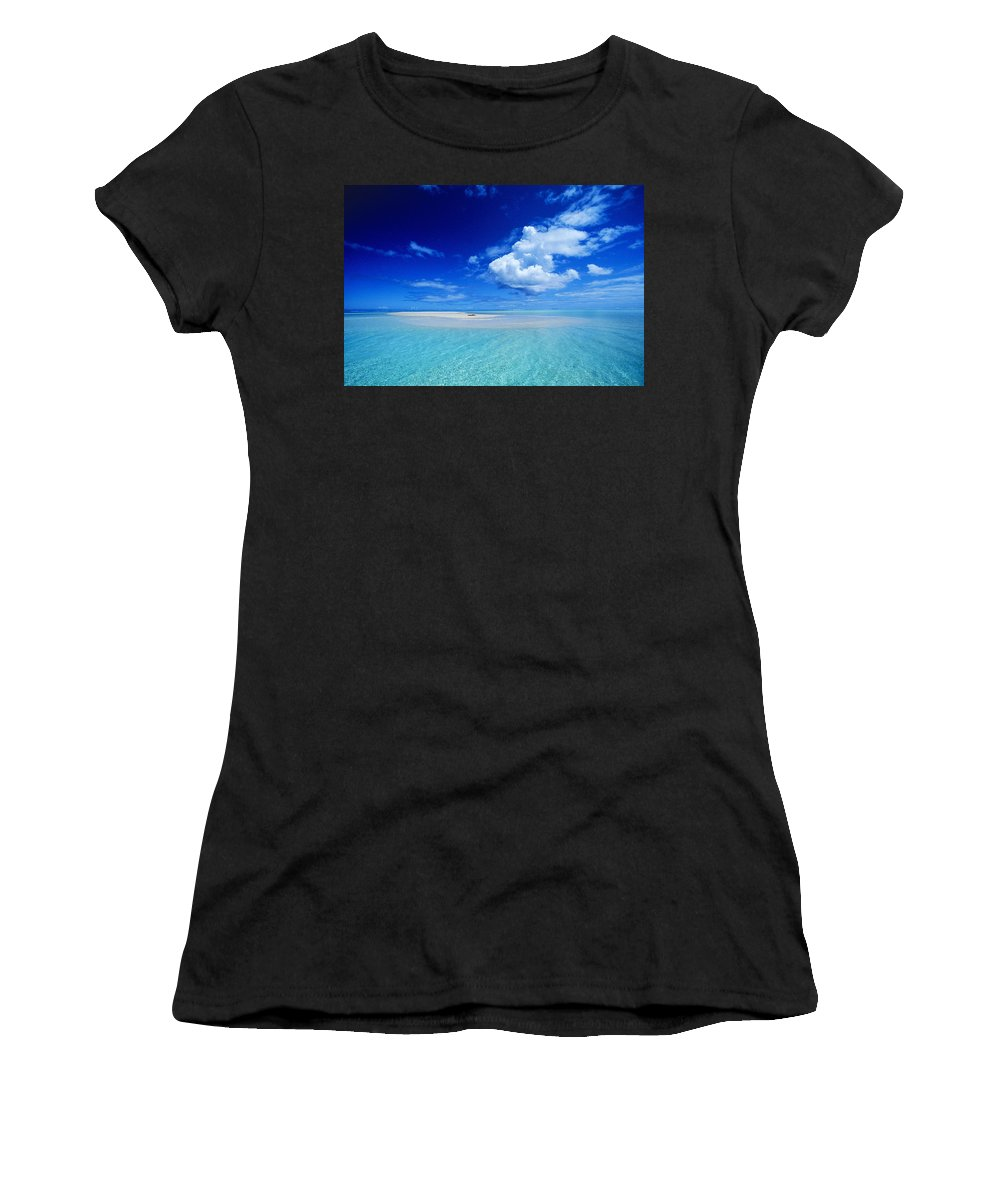Afternoon Women's T-Shirt featuring the photograph Turquiose Lagoon by Ron Dahlquist - Printscapes