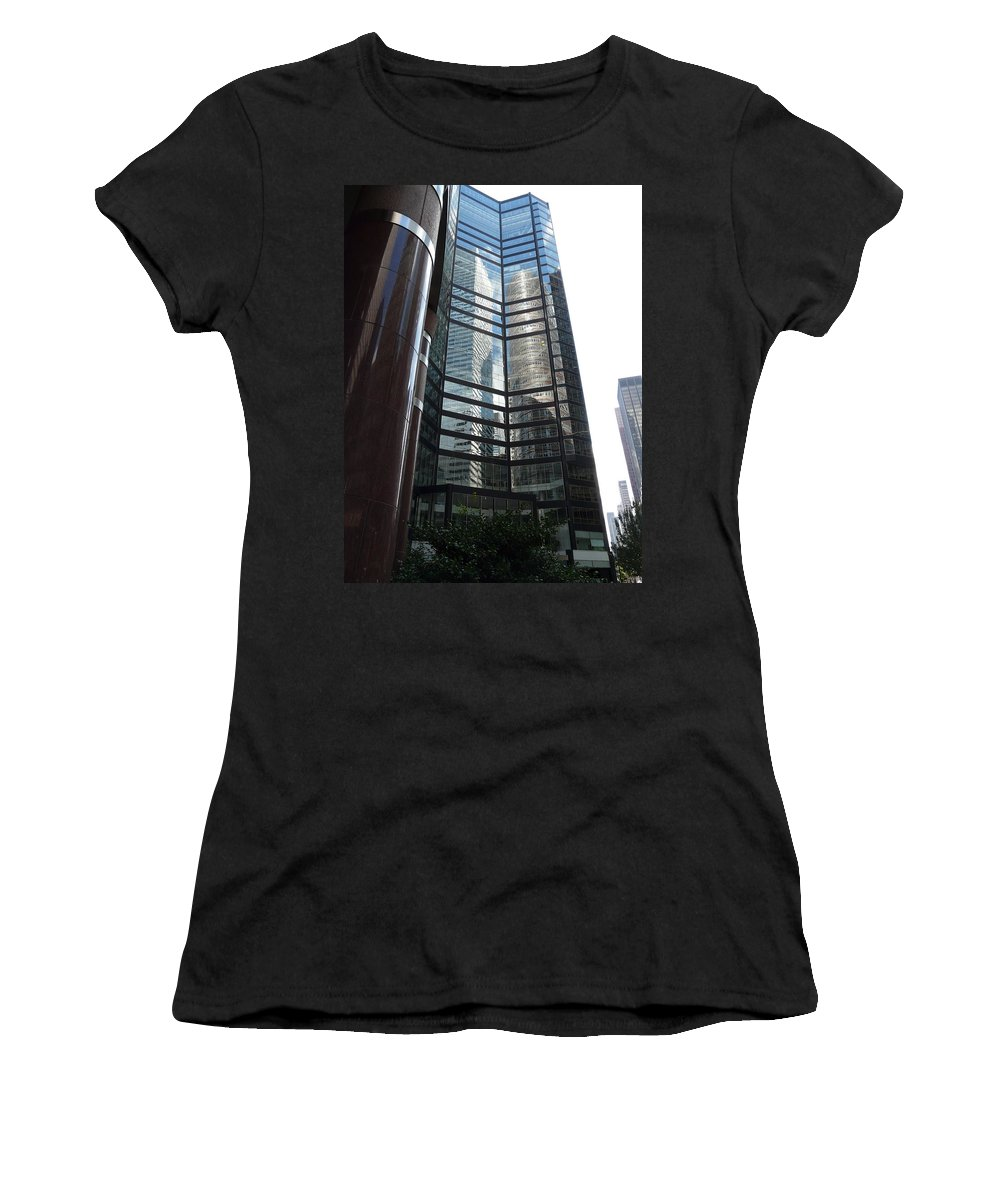 Reflection Women's T-Shirt featuring the photograph Two In One by Valerie Ornstein