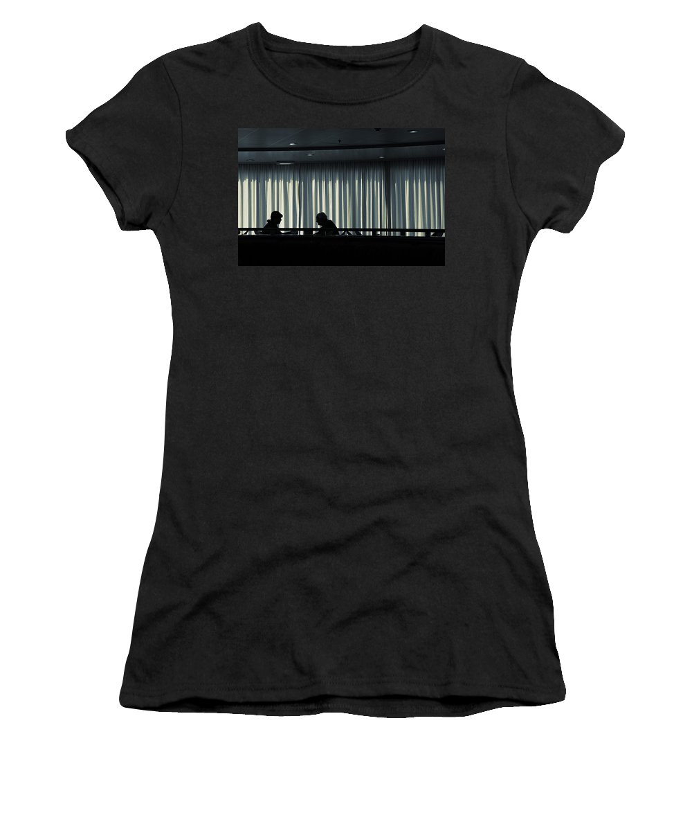 Couple Women's T-Shirt (Athletic Fit) featuring the photograph Two by Silvia Ganora