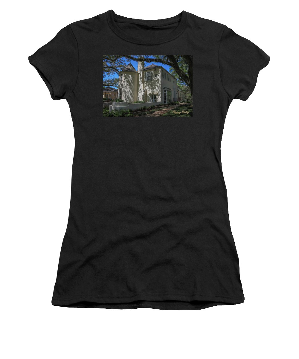 Ul Women's T-Shirt featuring the photograph Ul Alum House by Gregory Daley MPSA