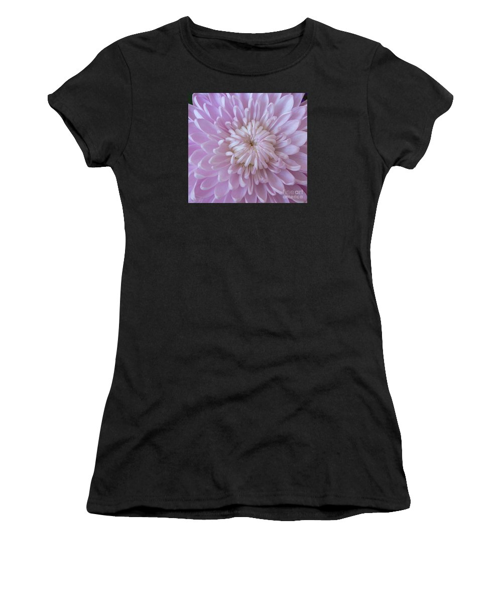 Mum Women's T-Shirt (Athletic Fit) featuring the photograph Unfolding Beauty by Ann Horn