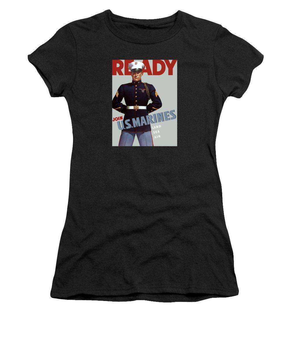 Marine Women's T-Shirts