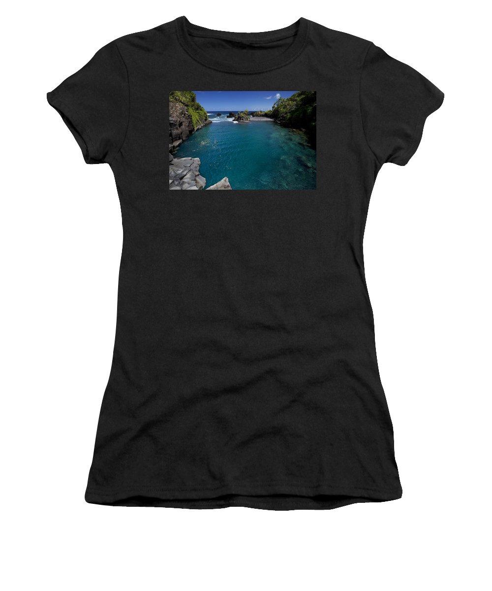 Big Women's T-Shirt (Athletic Fit) featuring the photograph Venus Pool by Jenna Szerlag