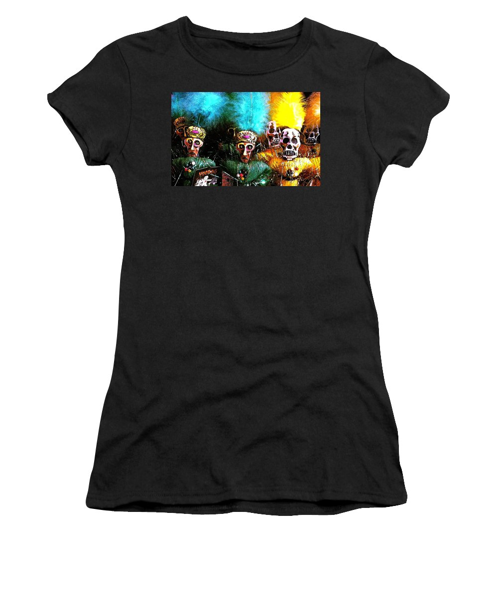 Voodoo Women's T-Shirt (Athletic Fit) featuring the photograph Voodoo For You by Nelson Strong
