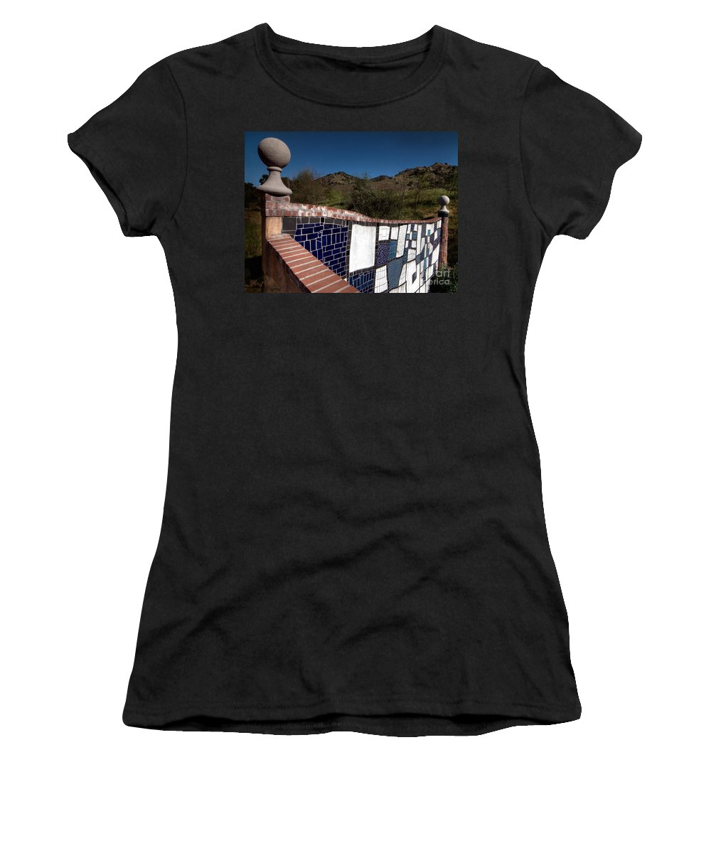 California Scenes Women's T-Shirt (Athletic Fit) featuring the photograph Wall Balls by Norman Andrus