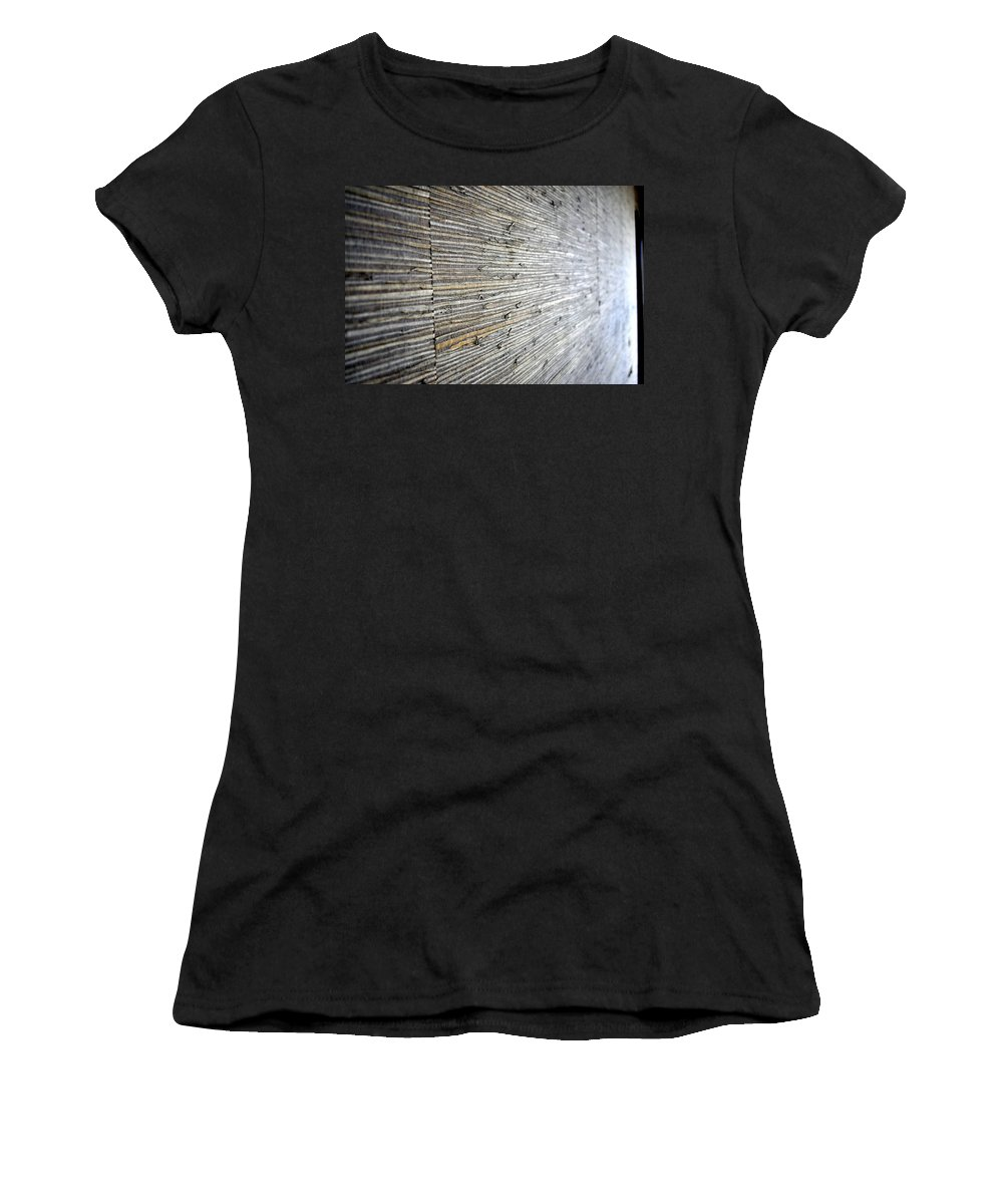 Landscape Women's T-Shirt (Athletic Fit) featuring the photograph Wallpaper by Shannon Nickerson