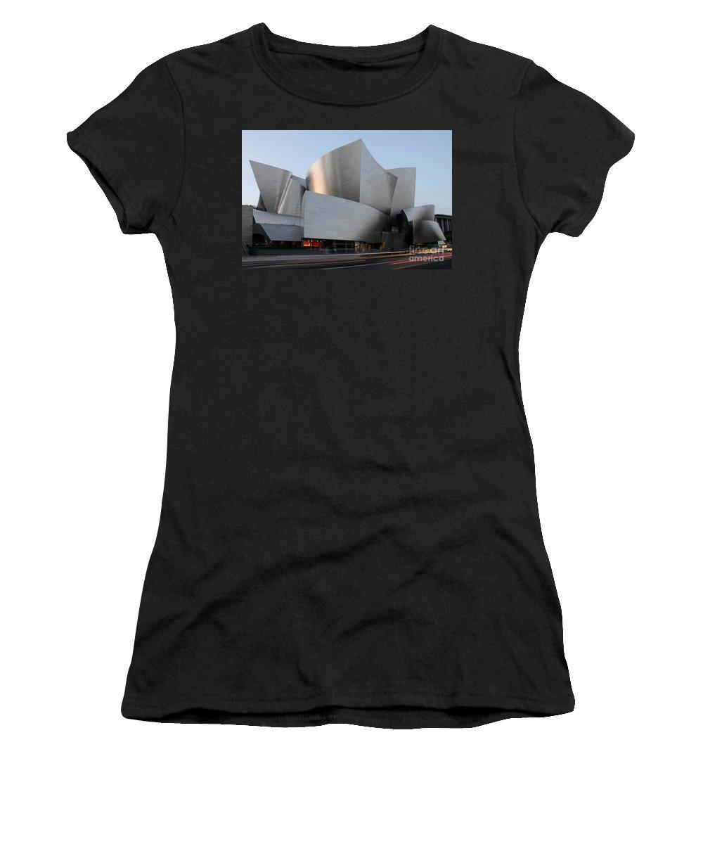 Disney Women's T-Shirt featuring the photograph Walt Disney Concert Hall 17 by Bob Christopher