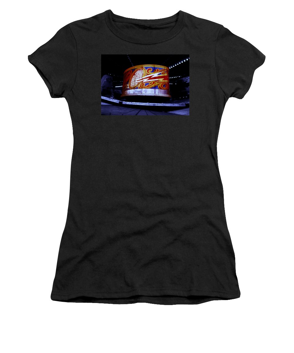 Waltzer Women's T-Shirt (Athletic Fit) featuring the photograph Waltzer by Charles Stuart