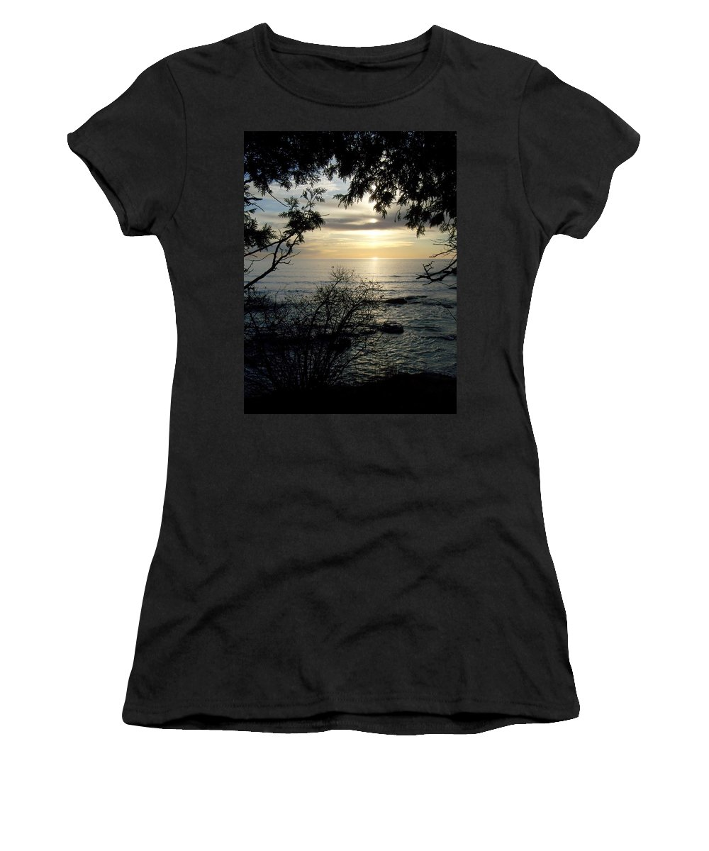 Washington Island Women's T-Shirt featuring the photograph Washington Island Morning 4 by Anita Burgermeister