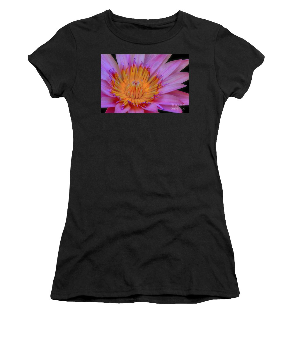 Flower Women's T-Shirt featuring the photograph Water Lily by DJ Florek