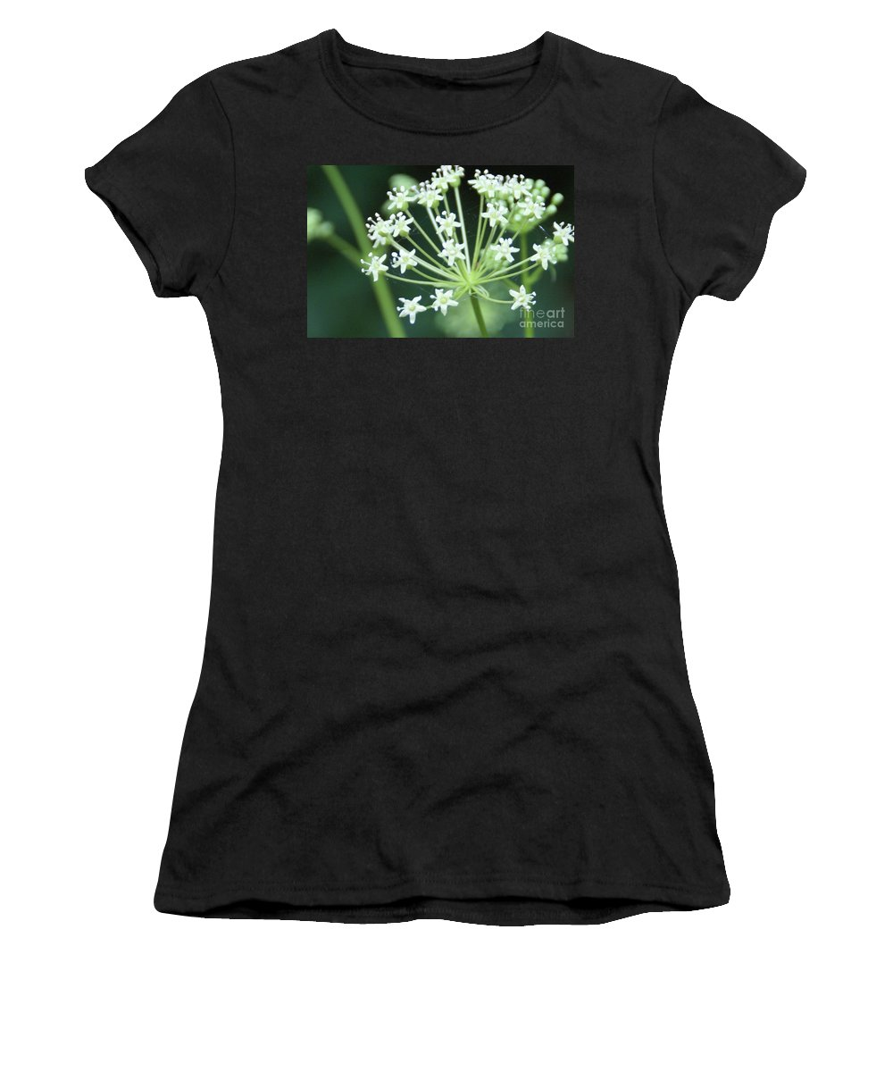 Flower Women's T-Shirt featuring the photograph Web Design - 2 by Linda Shafer