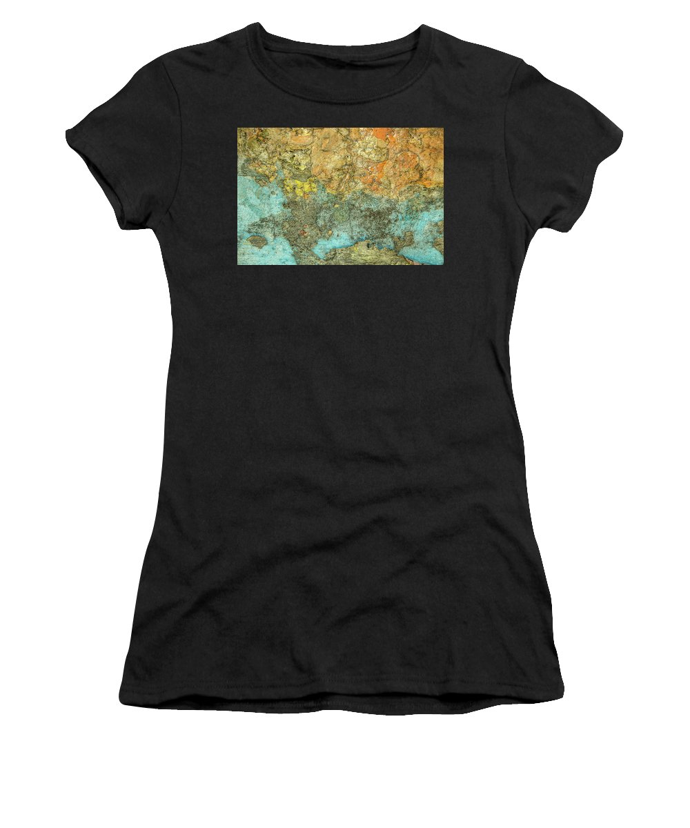 Abstract Women's T-Shirt featuring the photograph What You See Is What It Is by Isabella Biava