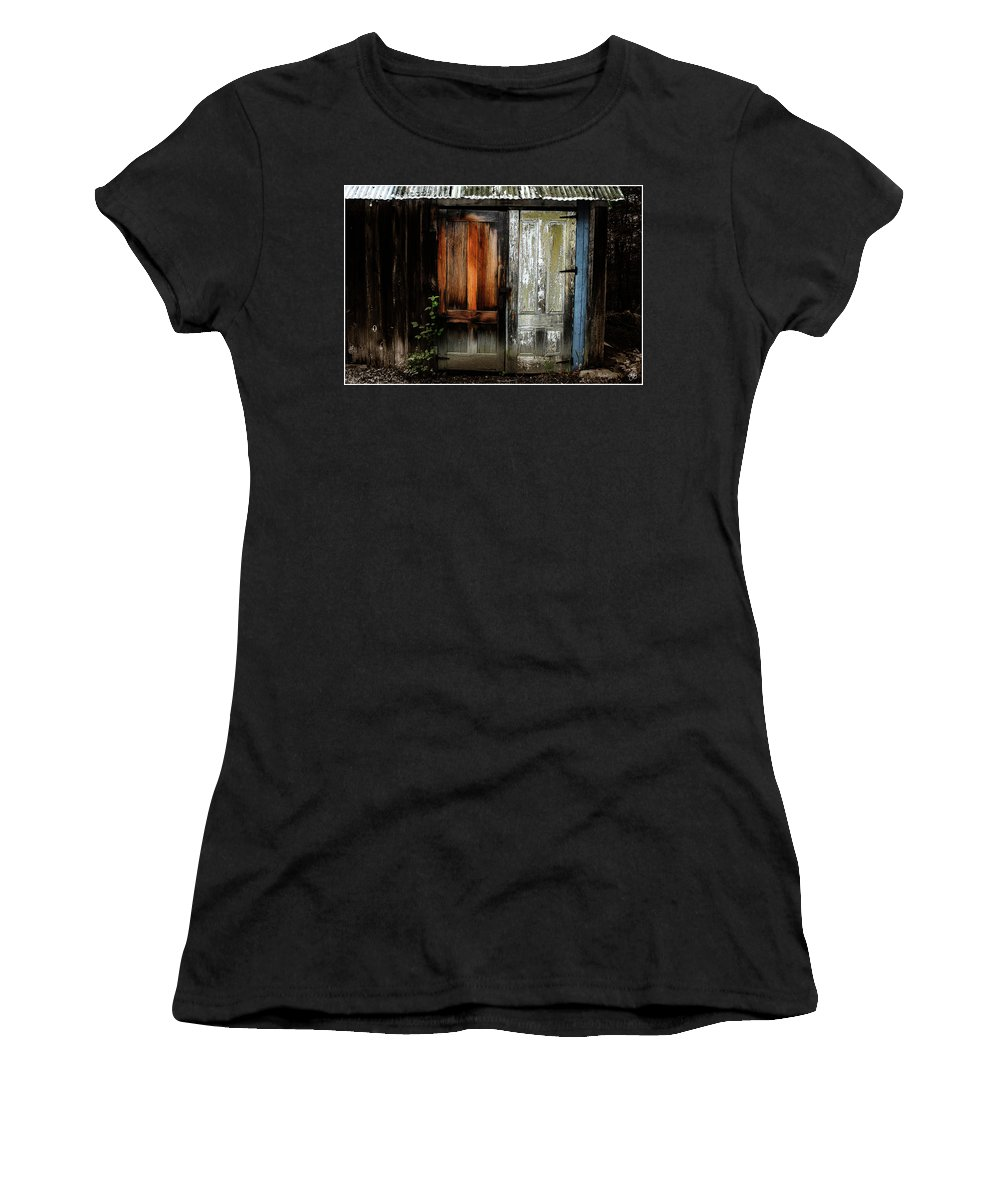 Building Women's T-Shirt featuring the photograph Which Way From Here by Wayne King