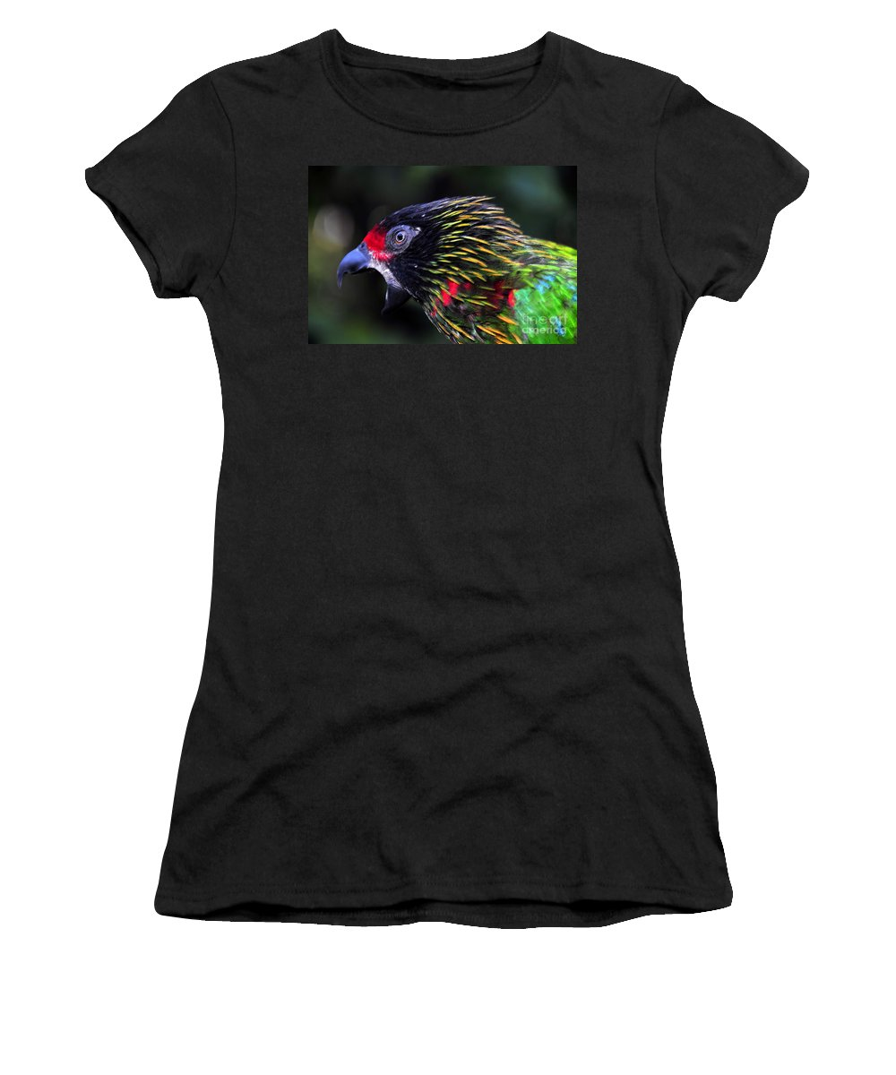 Bird Women's T-Shirt (Athletic Fit) featuring the photograph Wild Bird by David Lee Thompson