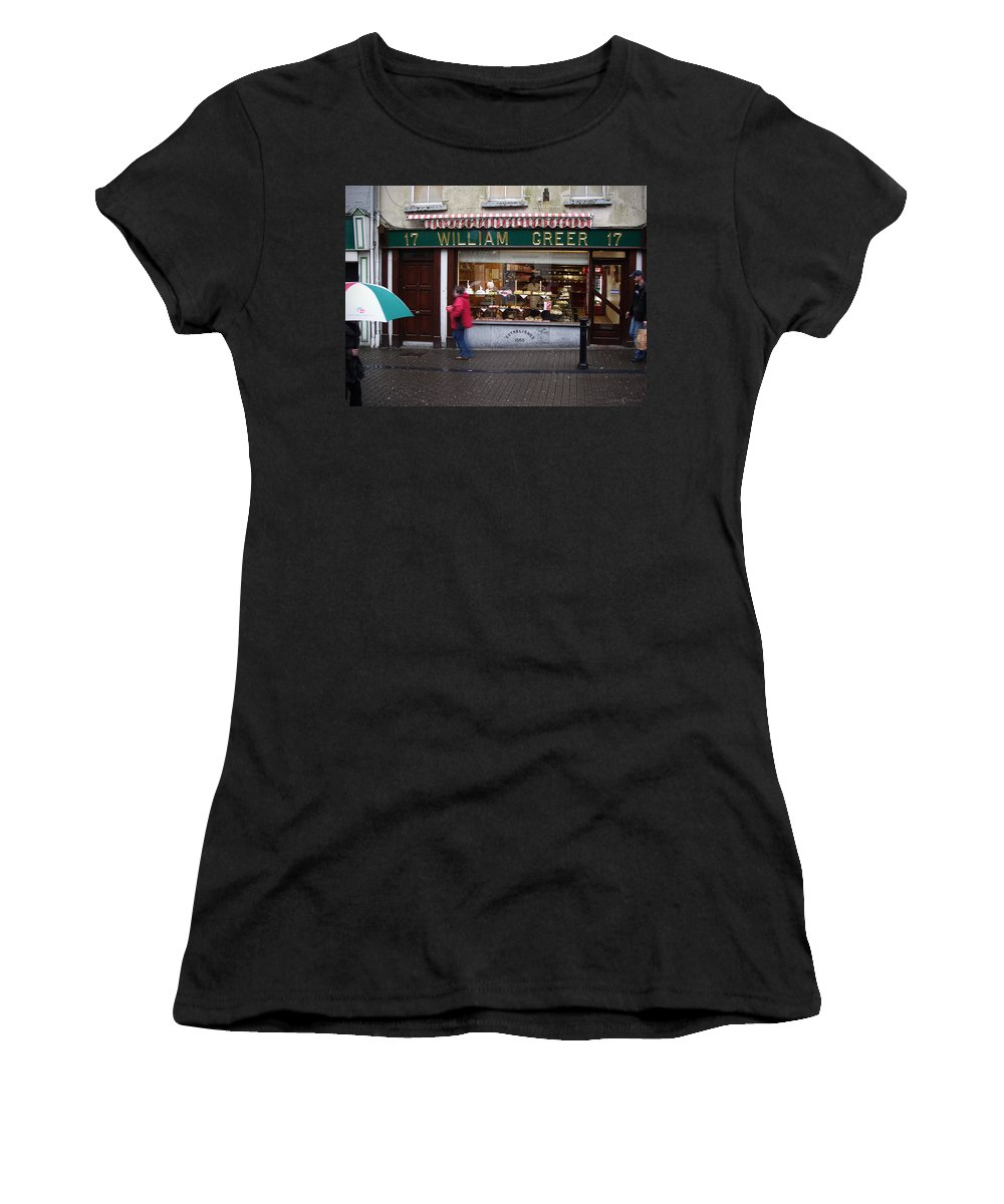 Ireland Women's T-Shirt (Athletic Fit) featuring the photograph William Greer by Tim Nyberg