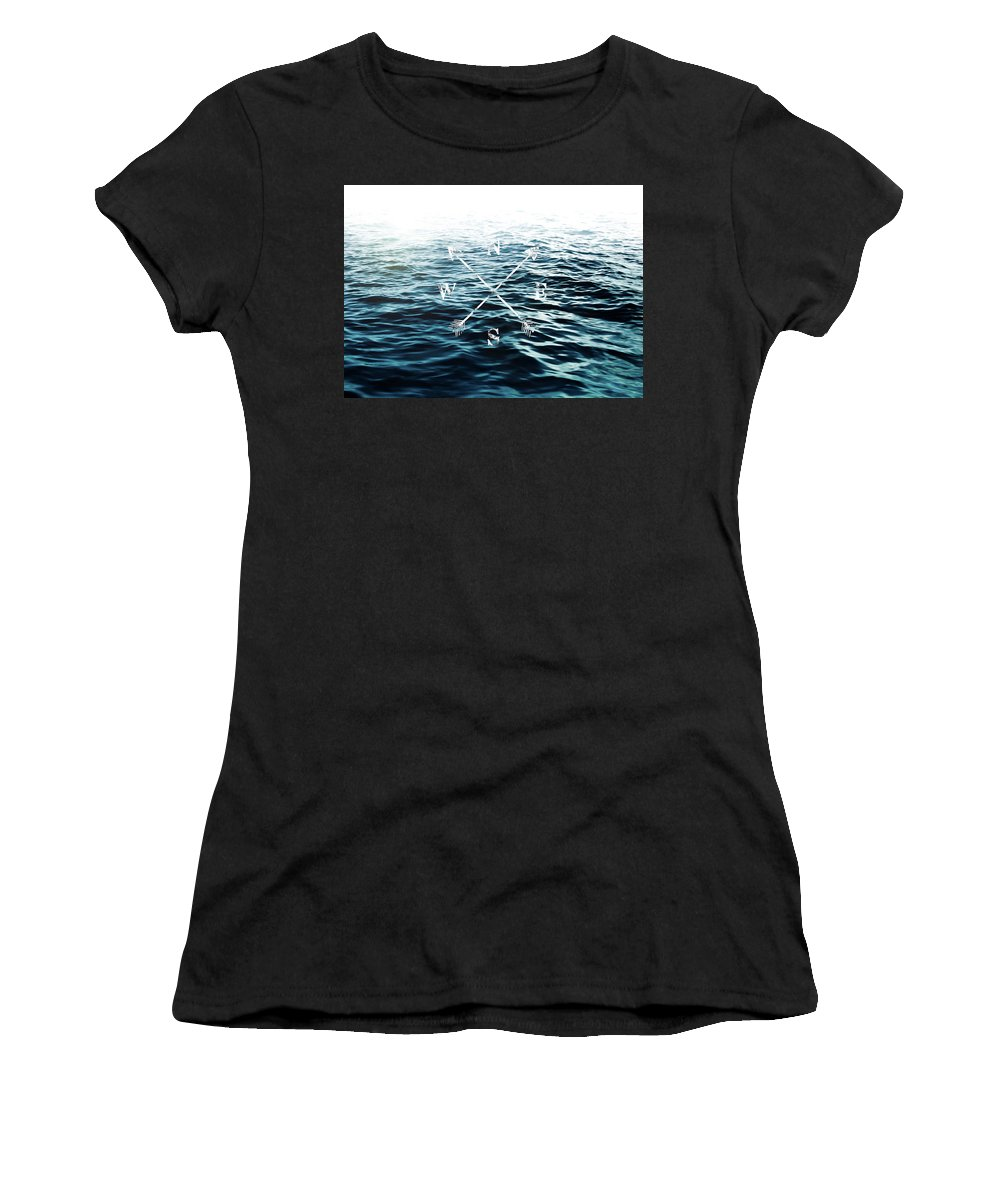 Sea Women's T-Shirt featuring the photograph Winds Of The Sea by Nicklas Gustafsson