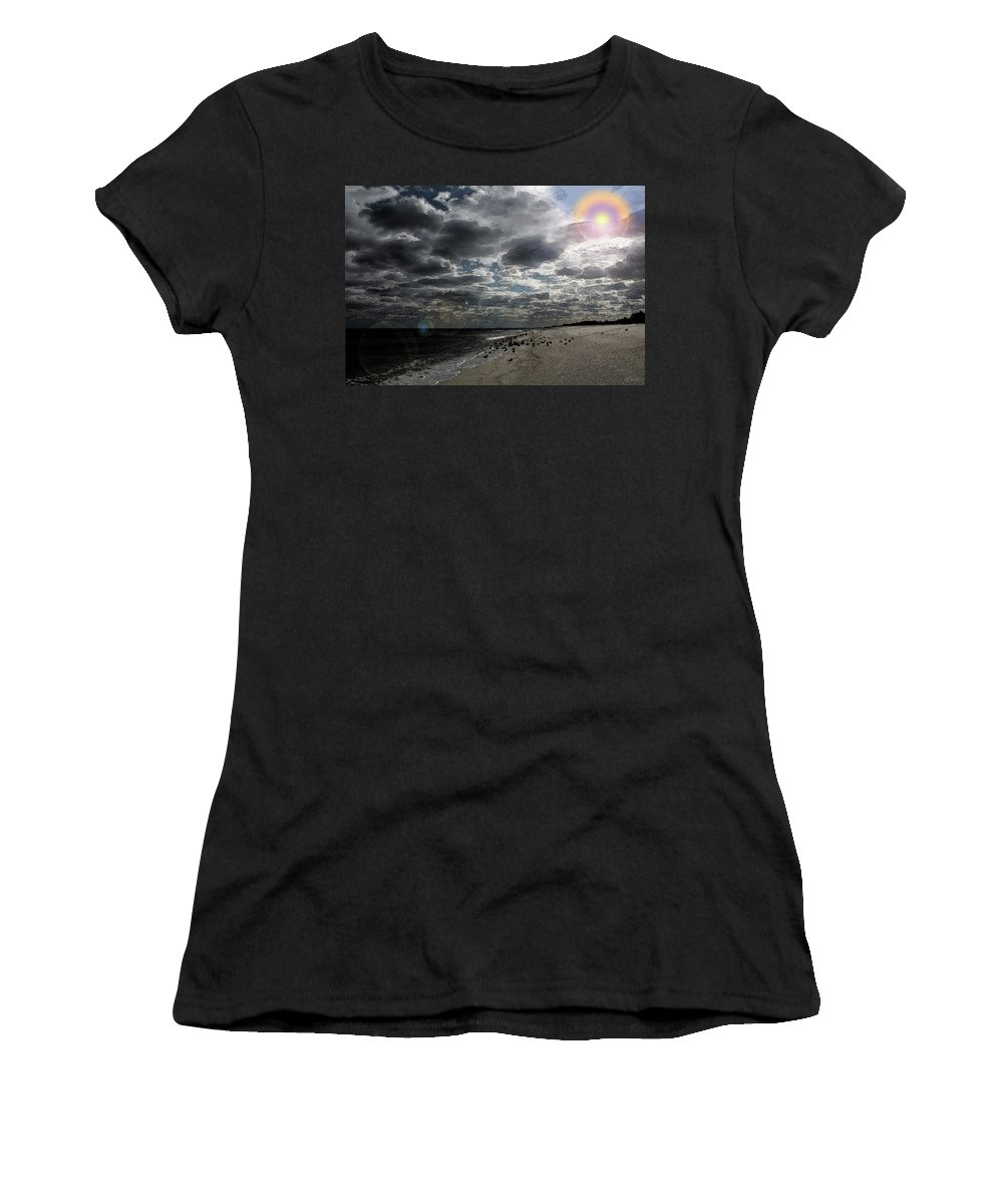 Brad Brailsford Women's T-Shirt (Athletic Fit) featuring the photograph Winter Solstice by Brad Brailsford