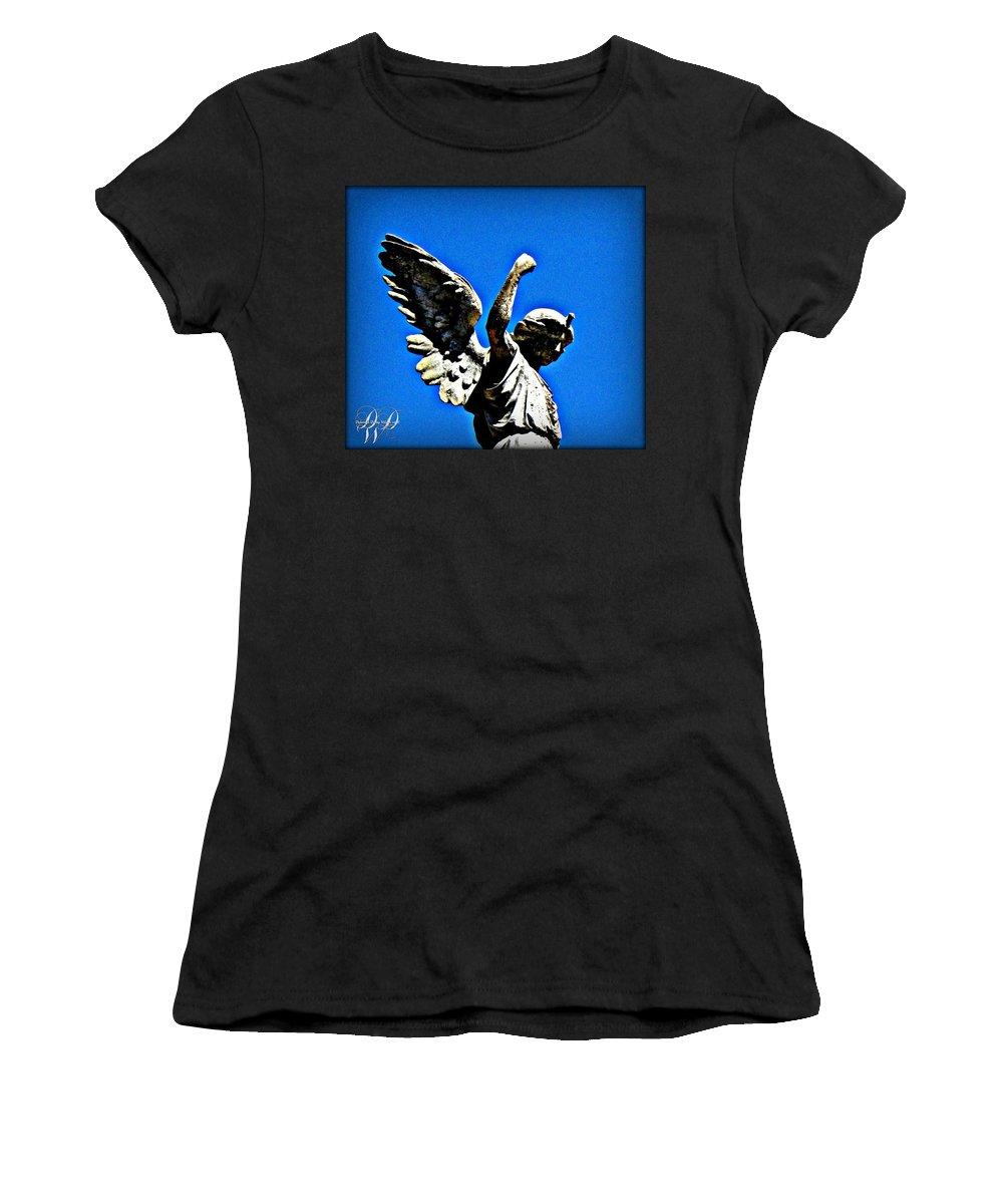 Angelfist angel fist pump women's t-shirt