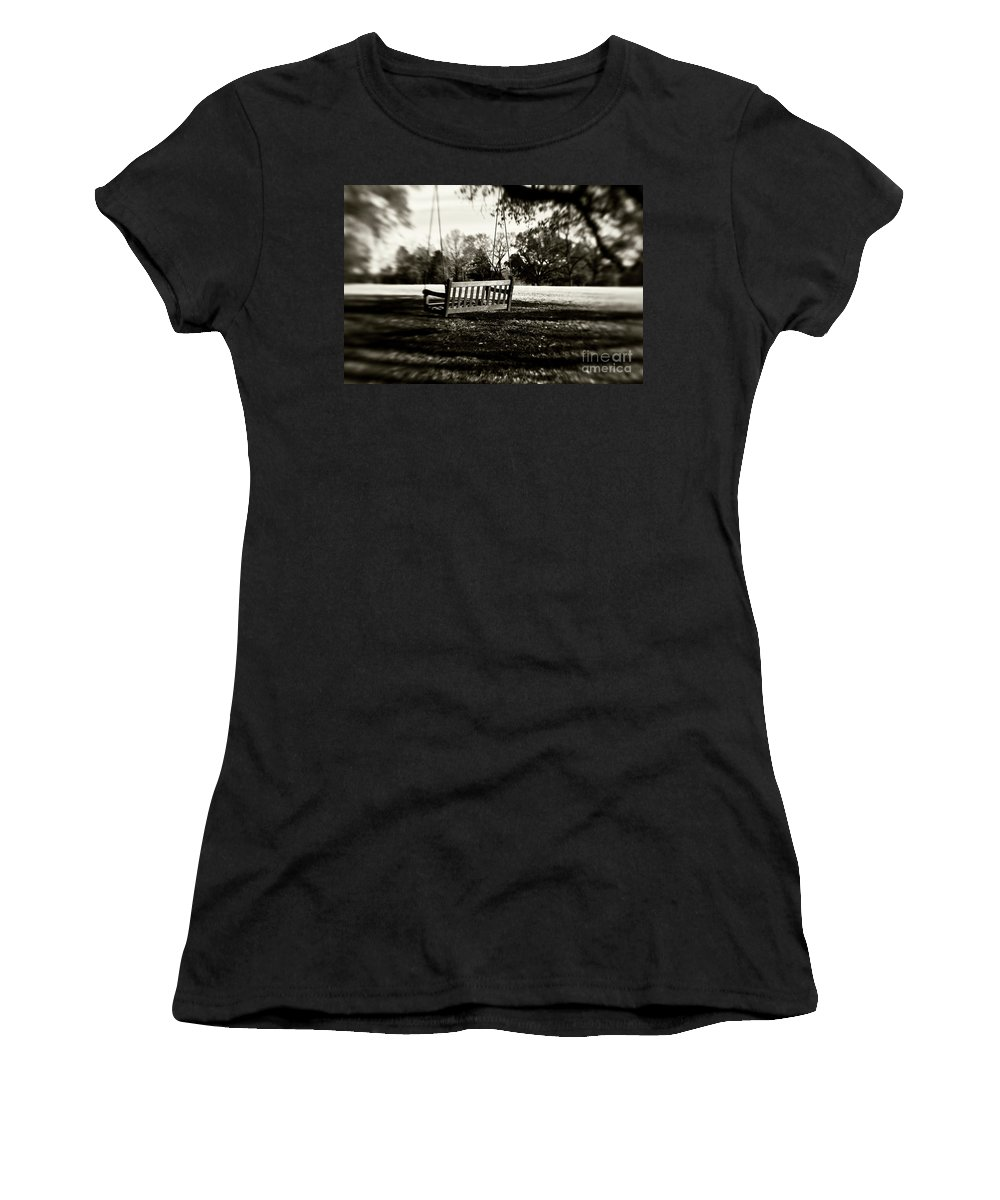 Swing Women's T-Shirt featuring the photograph Country Swing by Scott Pellegrin