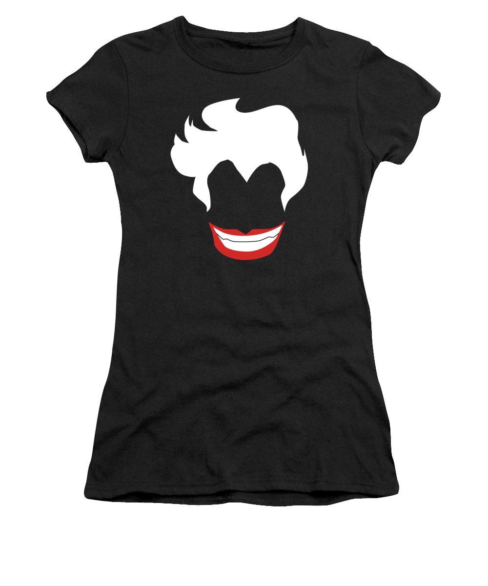 Ursula Women's T-Shirt featuring the digital art Sea Witch by Chris Cutler