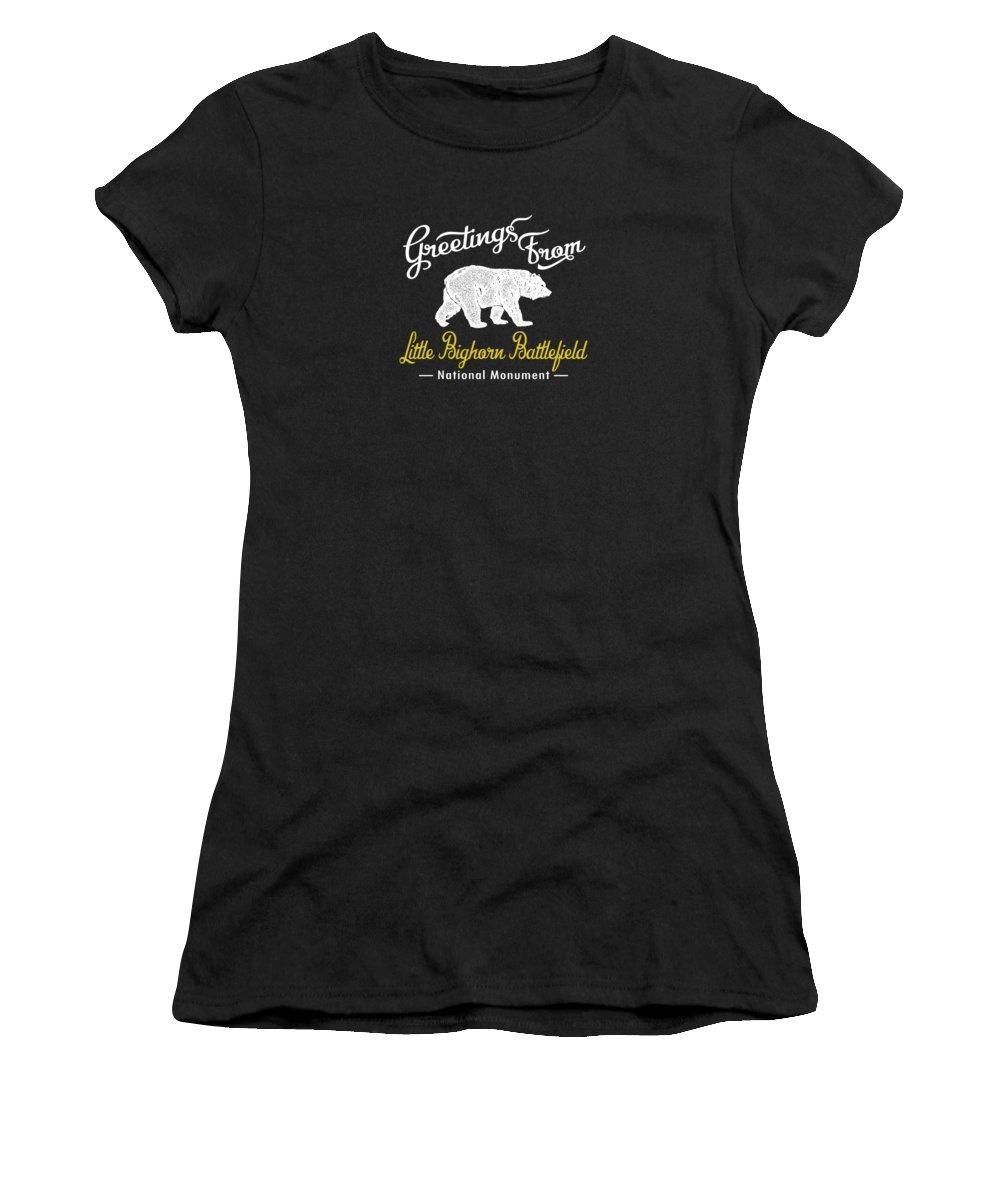 Battlefield Digital Art Women's T-Shirts