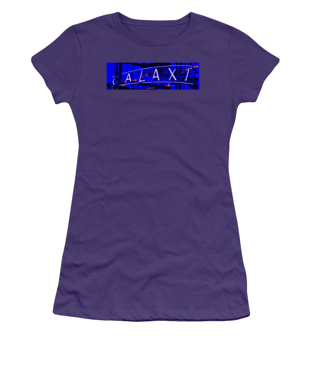 Fun Women's T-Shirt (Athletic Fit) featuring the photograph Galaxi by Ed Smith