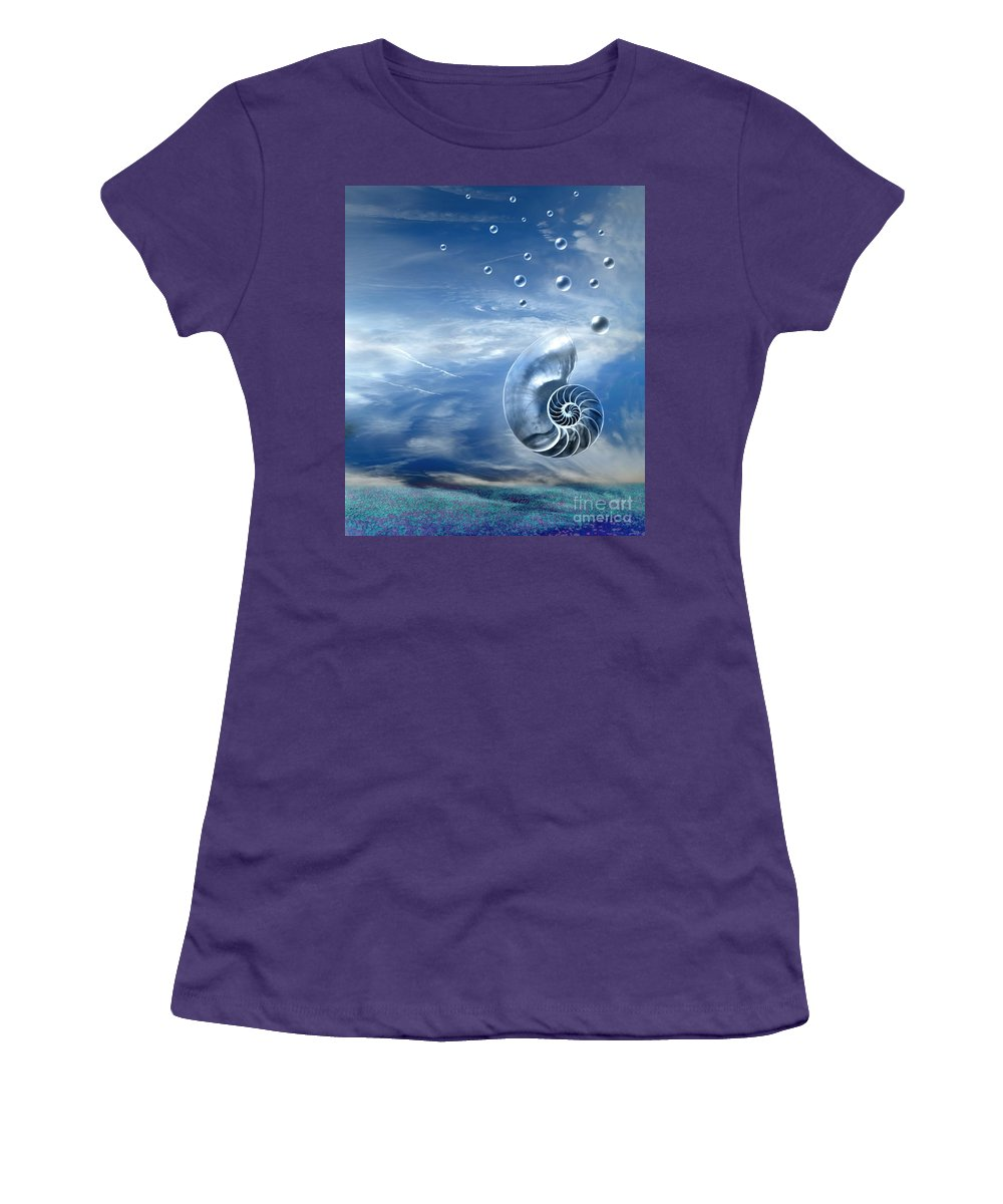 Surreal Women's T-Shirt (Athletic Fit) featuring the photograph Life by Jacky Gerritsen