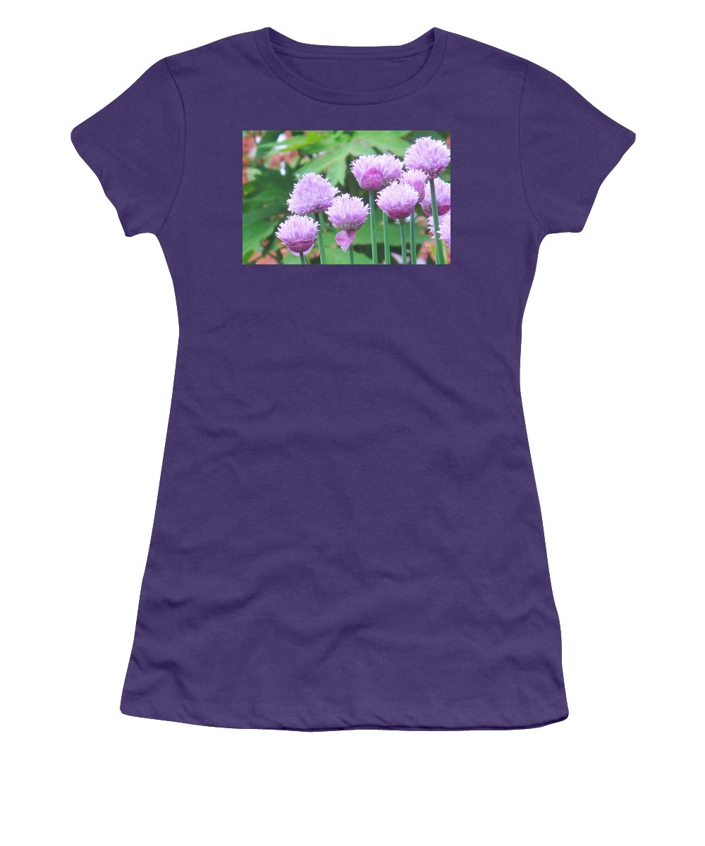 Flower Women's T-Shirt (Athletic Fit) featuring the photograph Stand Tall by Ian MacDonald