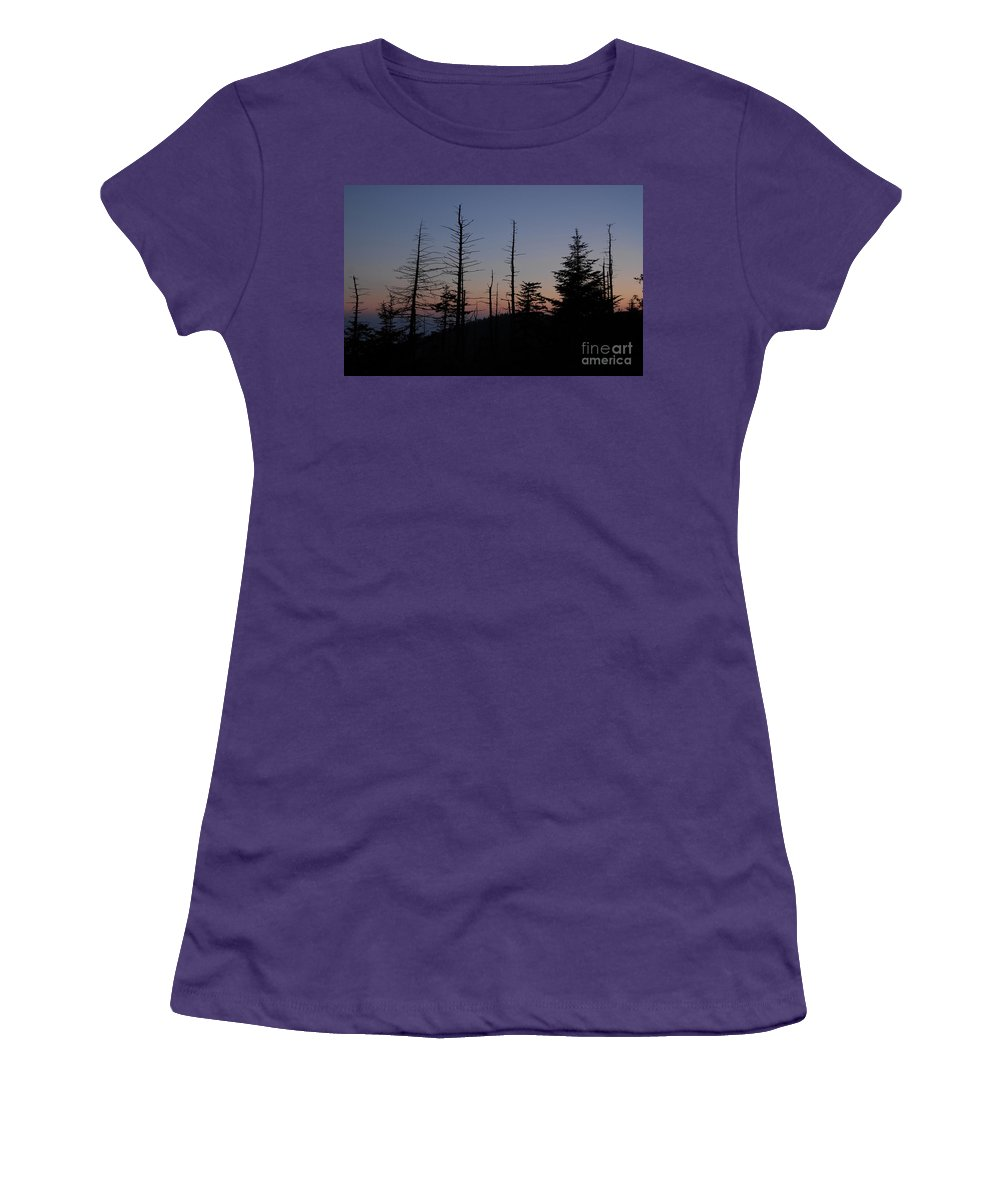 Wilderness Women's T-Shirt (Athletic Fit) featuring the photograph Wilderness by David Lee Thompson