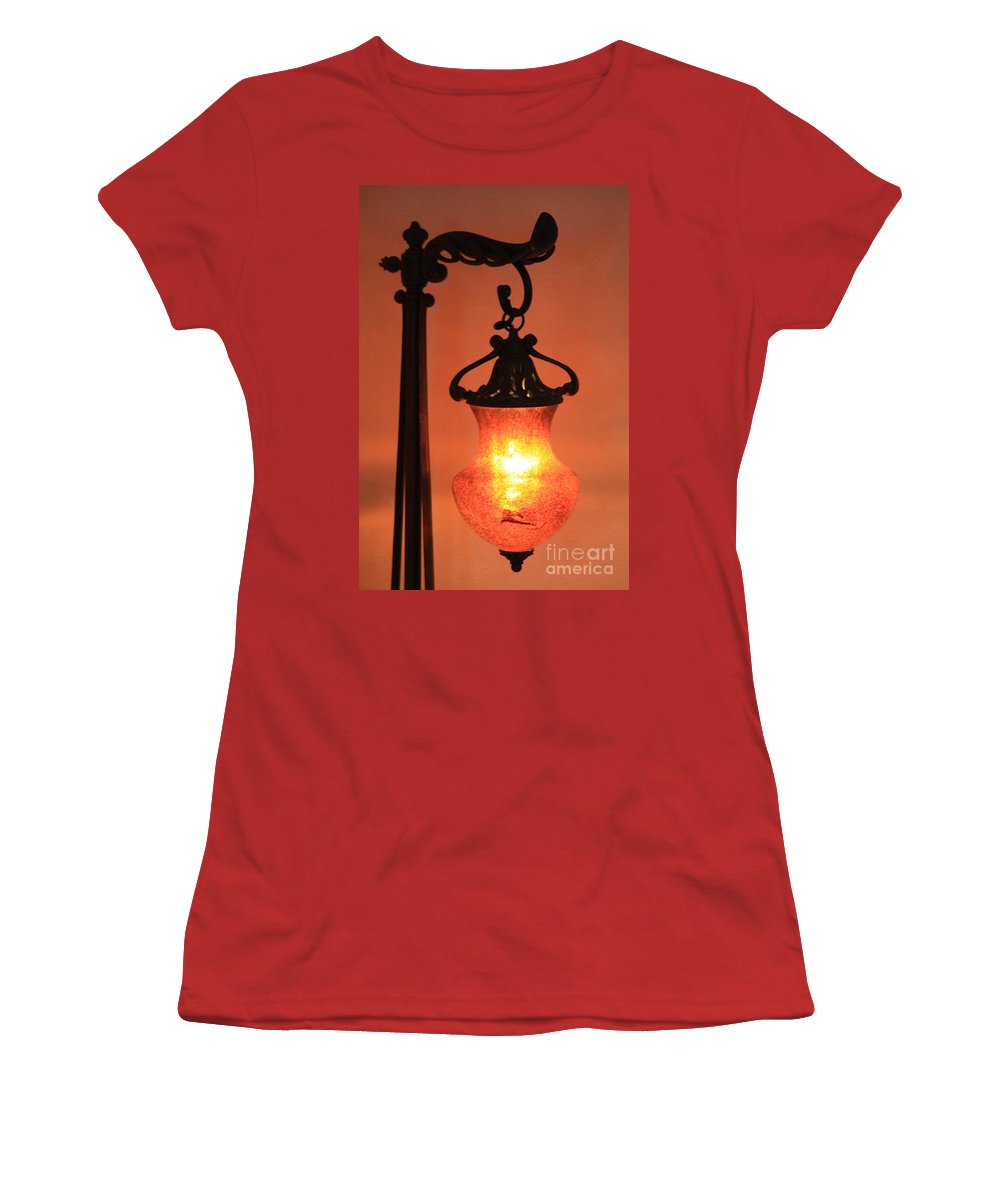 Evening Women's T-Shirt (Athletic Fit) featuring the photograph Night by Brandi Maher