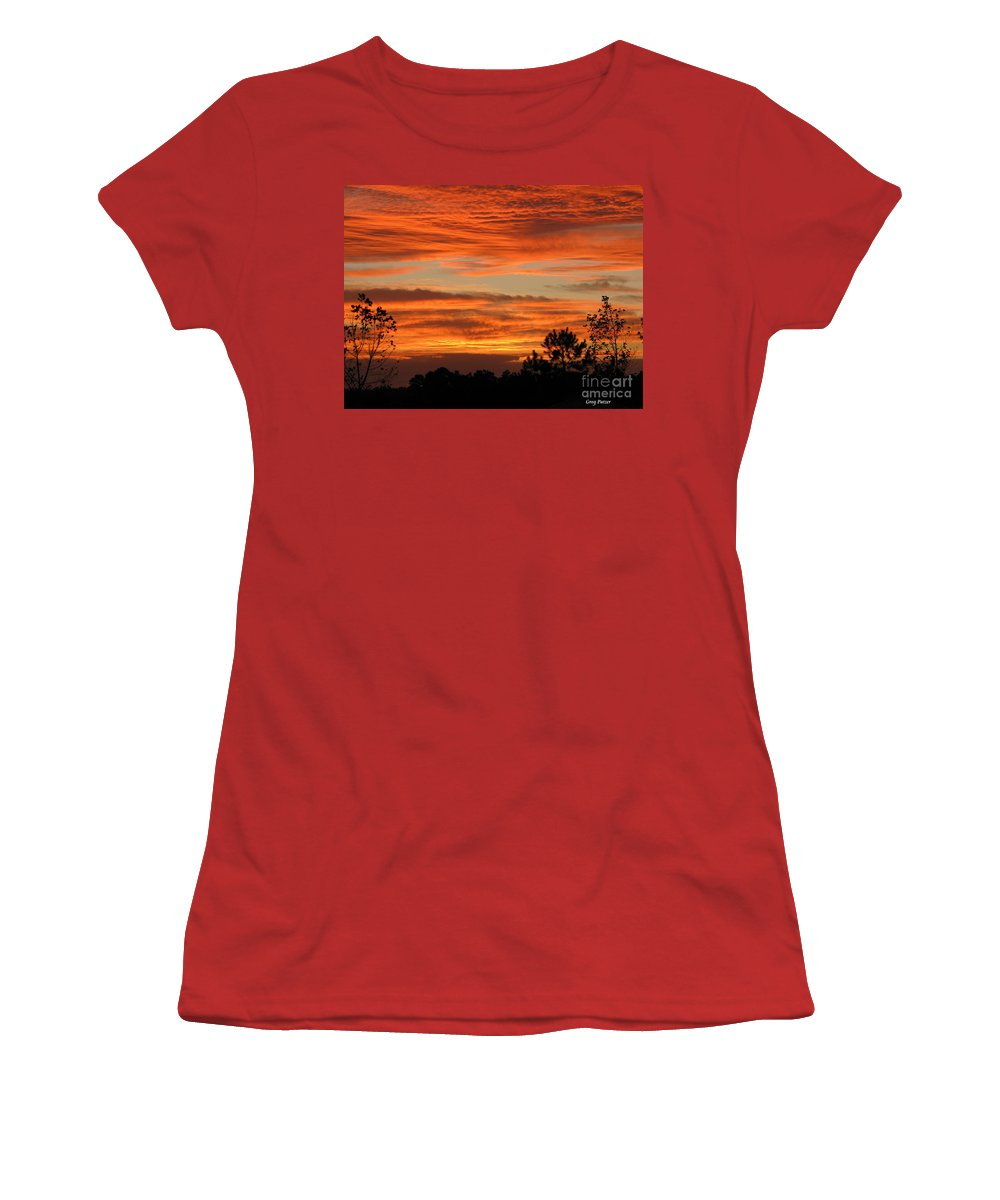 Art For The Wall...patzer Photography Women's T-Shirt (Athletic Fit) featuring the photograph Perfection by Greg Patzer