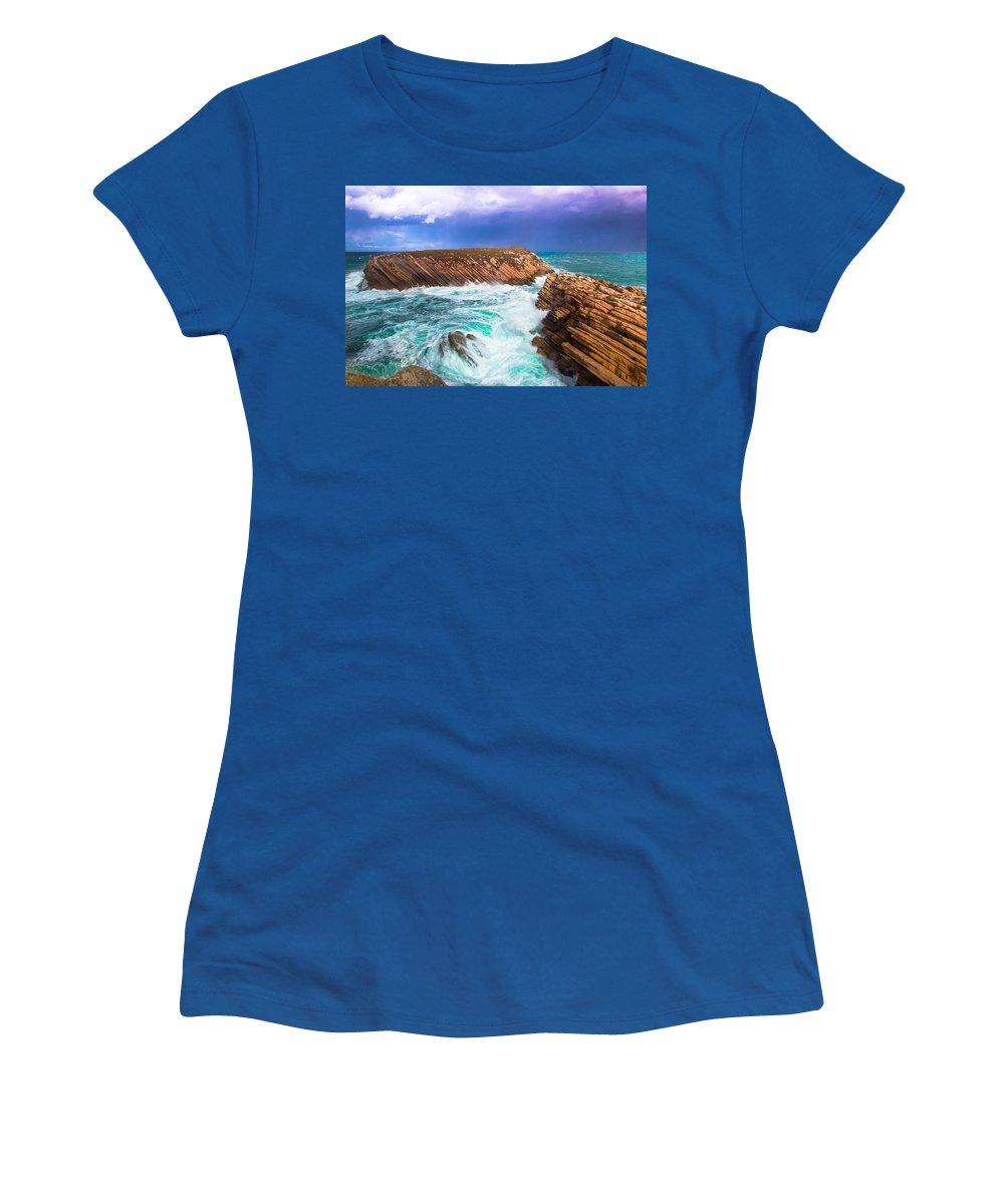 Baleal Women's T-Shirt featuring the photograph Baleal by Edgar Laureano