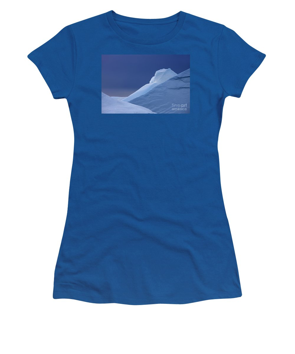 Iceberg Women's T-Shirt featuring the photograph 110307p083 by Arterra Picture Library