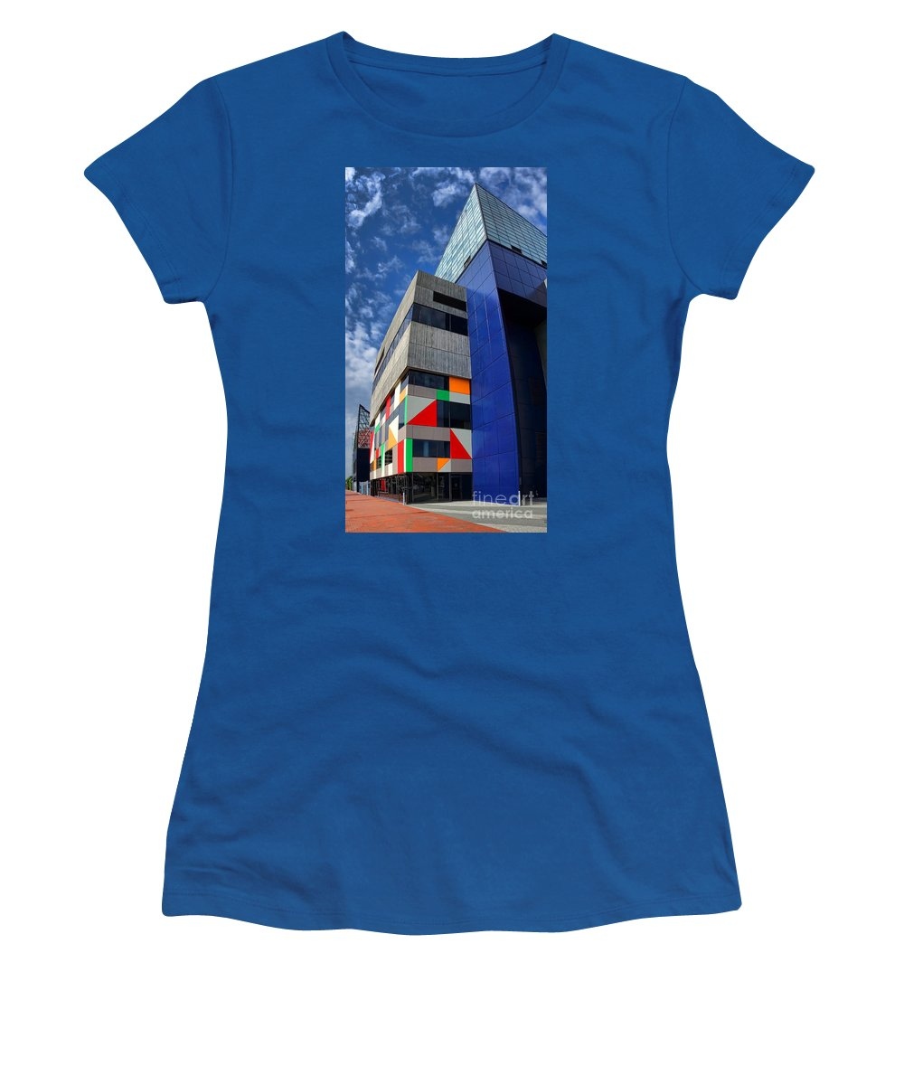 Baltimore Women's T-Shirt featuring the photograph Baltimore National Aquarium by Olivier Le Queinec