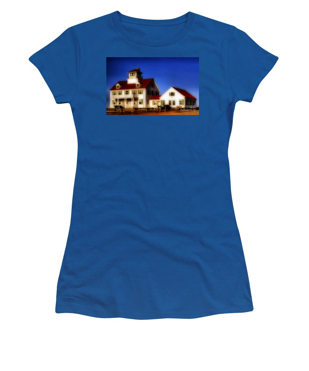 Maritime Women's T-Shirt featuring the photograph Cape Cod by Skip Willits