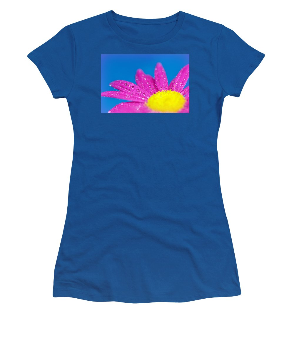 Water Women's T-Shirt featuring the photograph Celebration A Cacophony Of Colour by Lisa Knechtel
