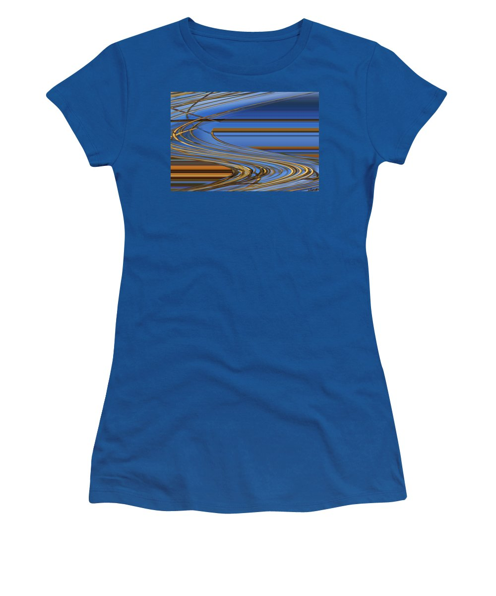 Chocolate Women's T-Shirt featuring the digital art Chocolate by Carol Lynch