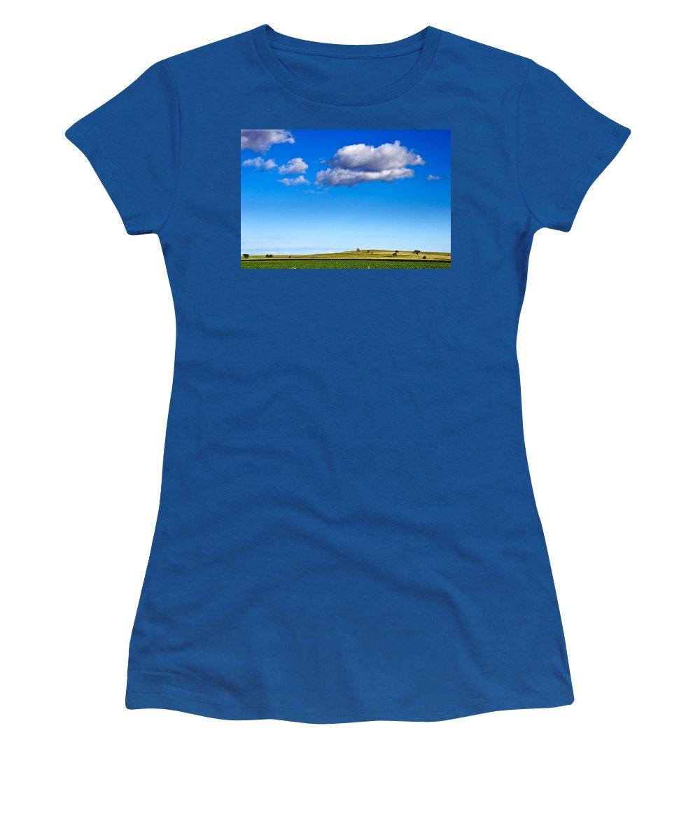 Kansas Women's T-Shirt featuring the photograph Cloud Nine by Eric Benjamin