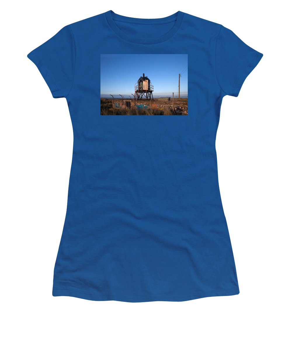 Photography Women's T-Shirt featuring the photograph Disused Lighthouse, Mornington, County by Panoramic Images