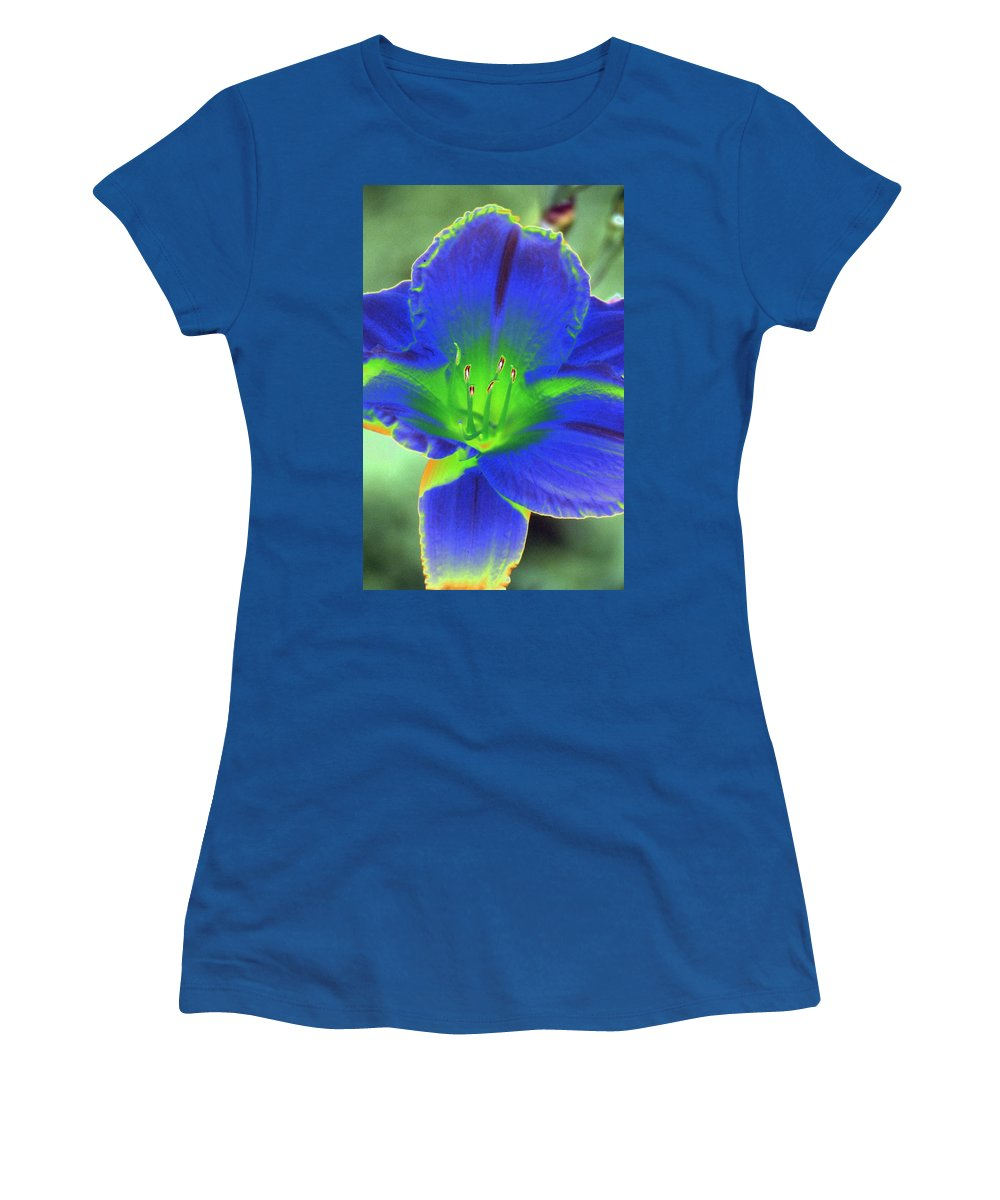 Flower Women's T-Shirt featuring the photograph Flower Power 1443 by Pamela Critchlow