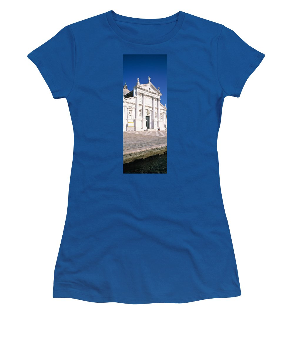 Photography Women's T-Shirt featuring the photograph Italy, Venice, San Giorgio by Panoramic Images