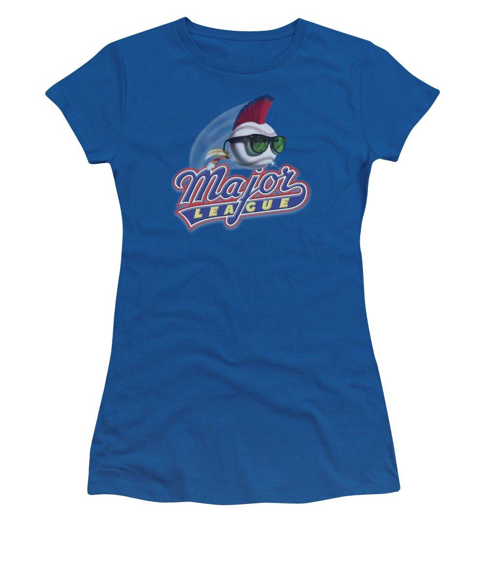 Major League Women's T-Shirt featuring the digital art Major League - Title by Brand A