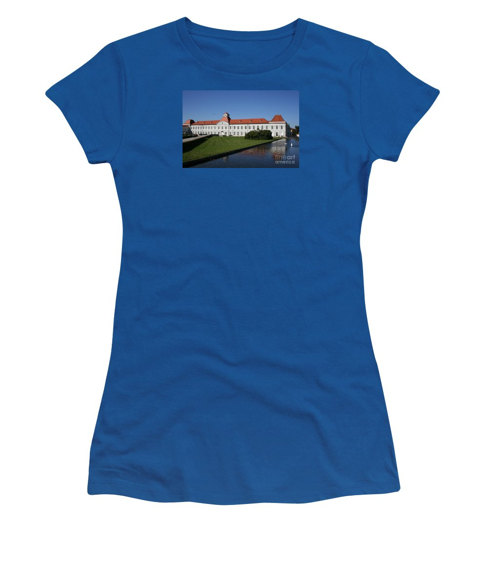 Palace Women's T-Shirt featuring the photograph Palace Nymphenburg - Germany by Christiane Schulze Art And Photography