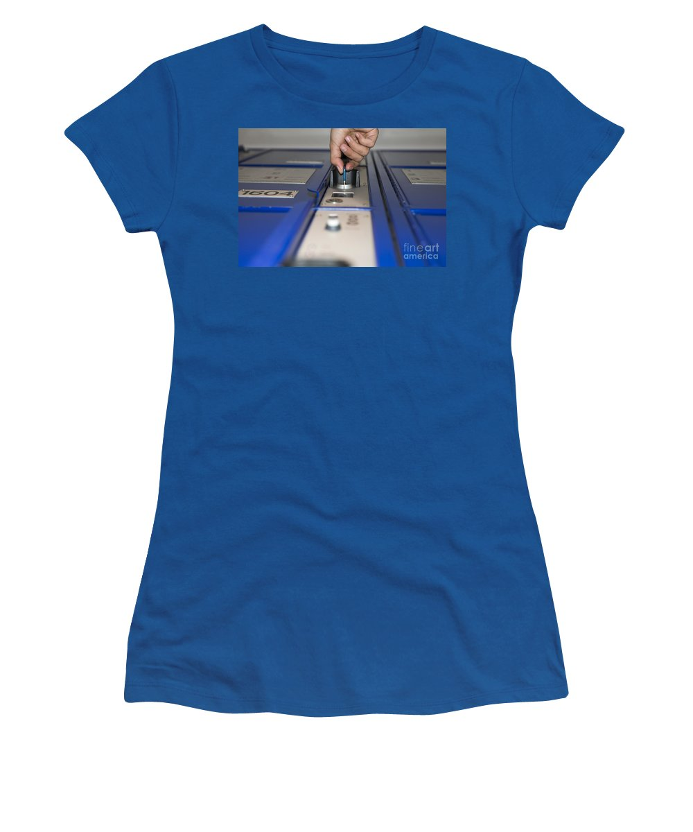 Safe Box Women's T-Shirt featuring the photograph Safe Box by Mats Silvan